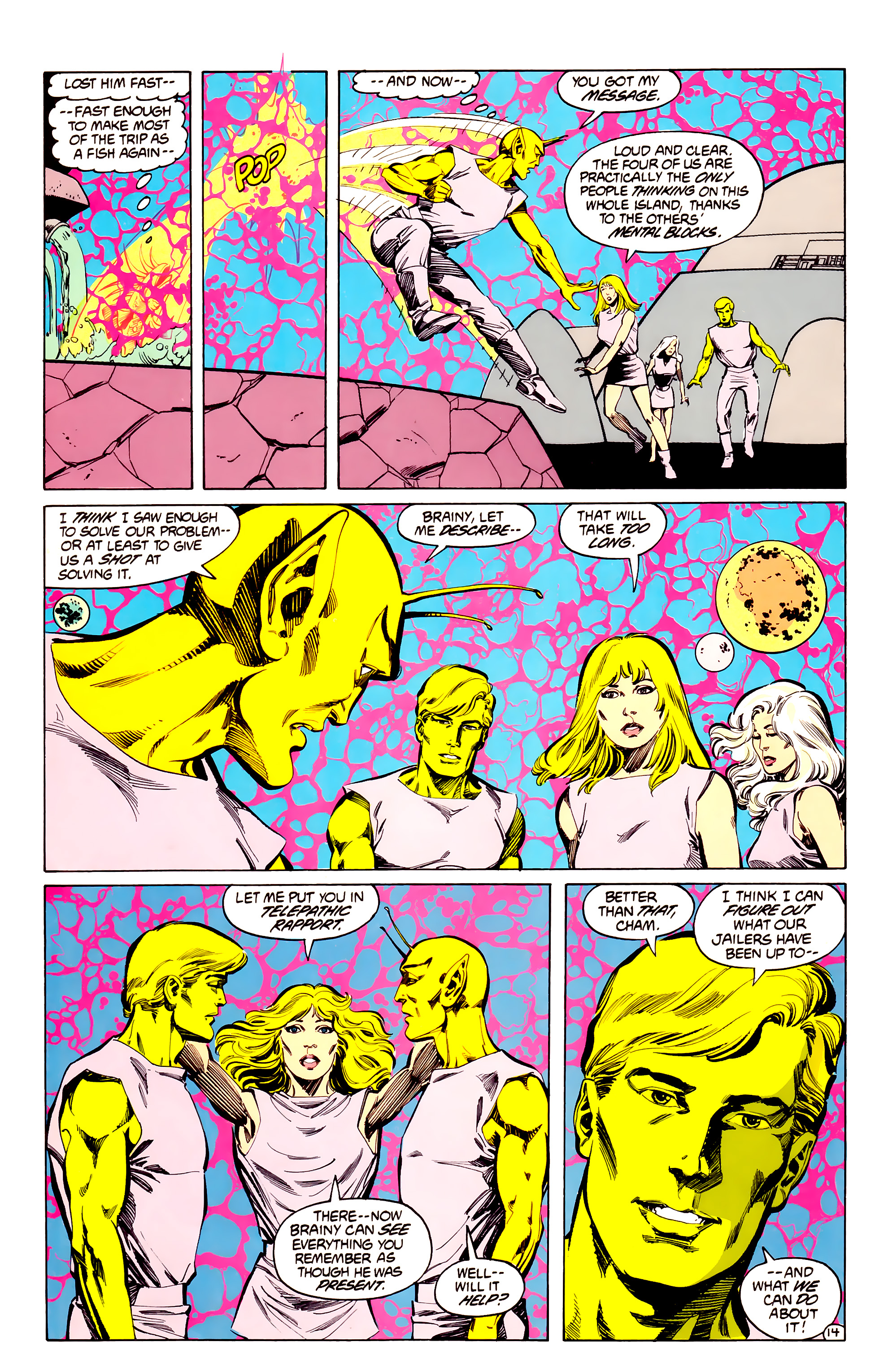 Legion of Super-Heroes (1984) 33 Page 14