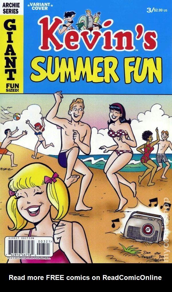 Read online Kevin Keller comic -  Issue #3 - 2