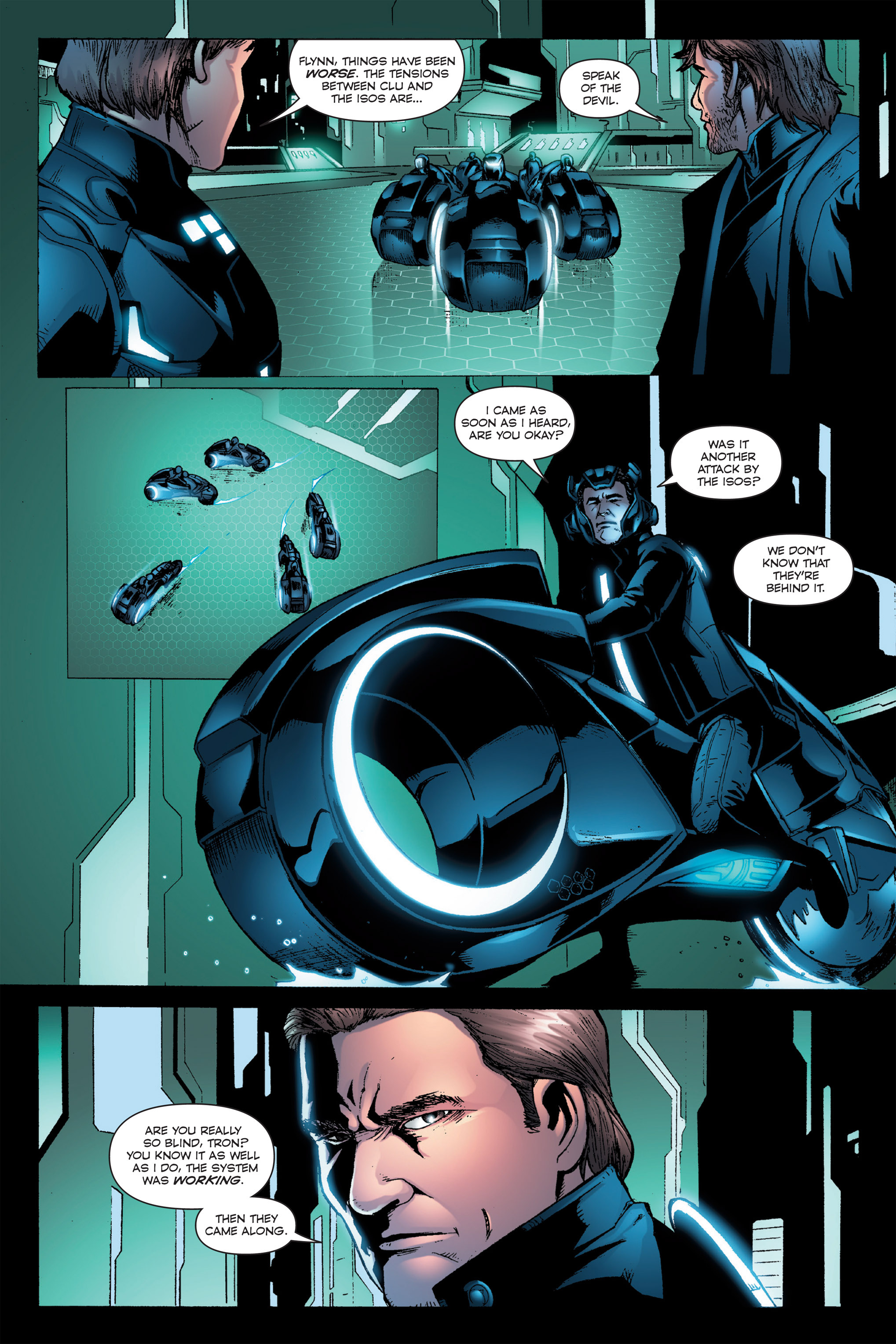 Read online TRON: Betrayal comic -  Issue # TPB - 69