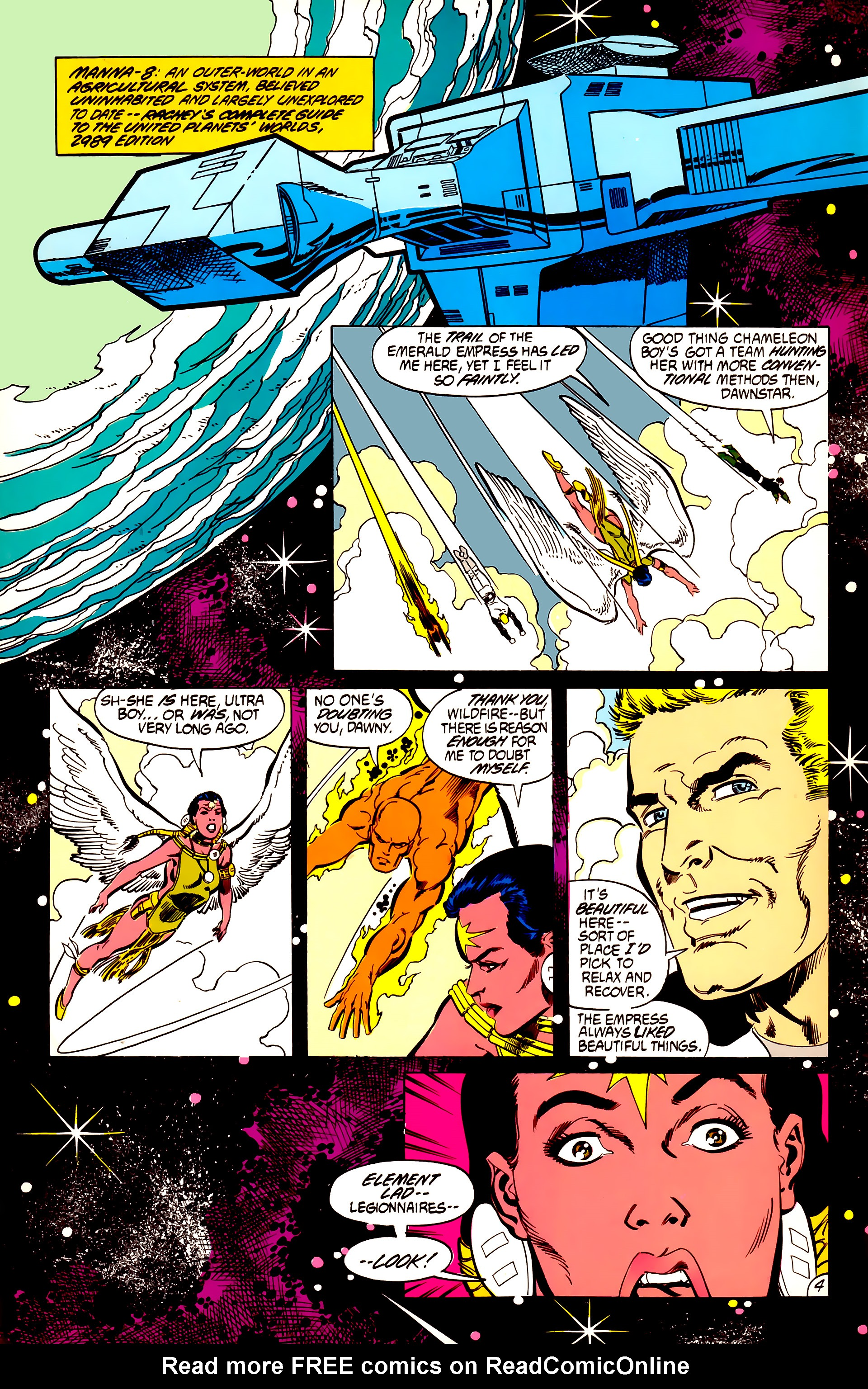 Legion of Super-Heroes (1984) 56 Page 4