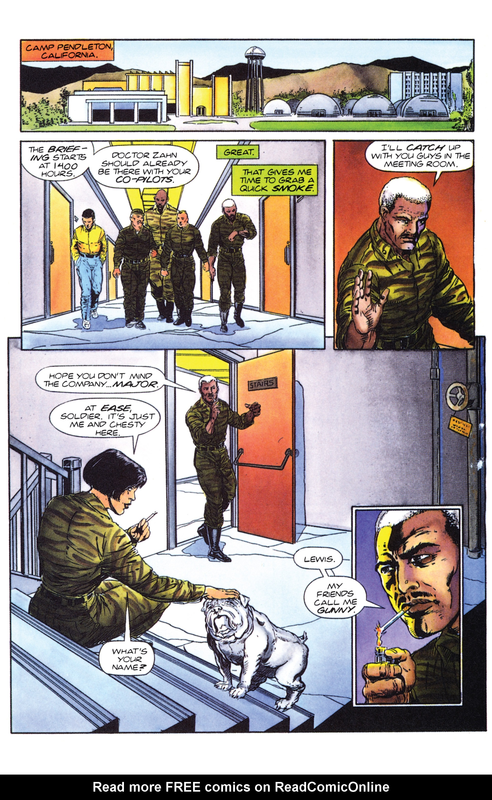 Read online Armorines comic -  Issue #0 - 9
