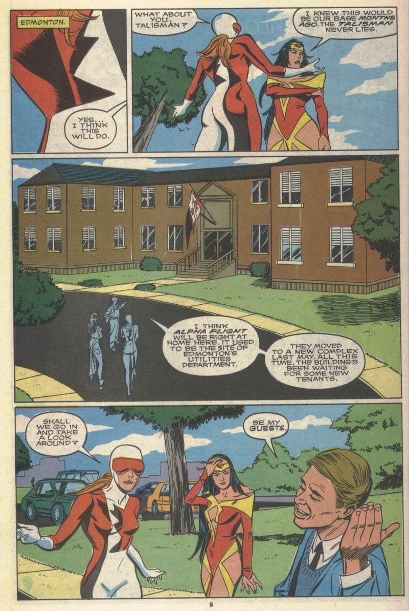 Read online Alpha Flight (1983) comic -  Issue #78 - 9