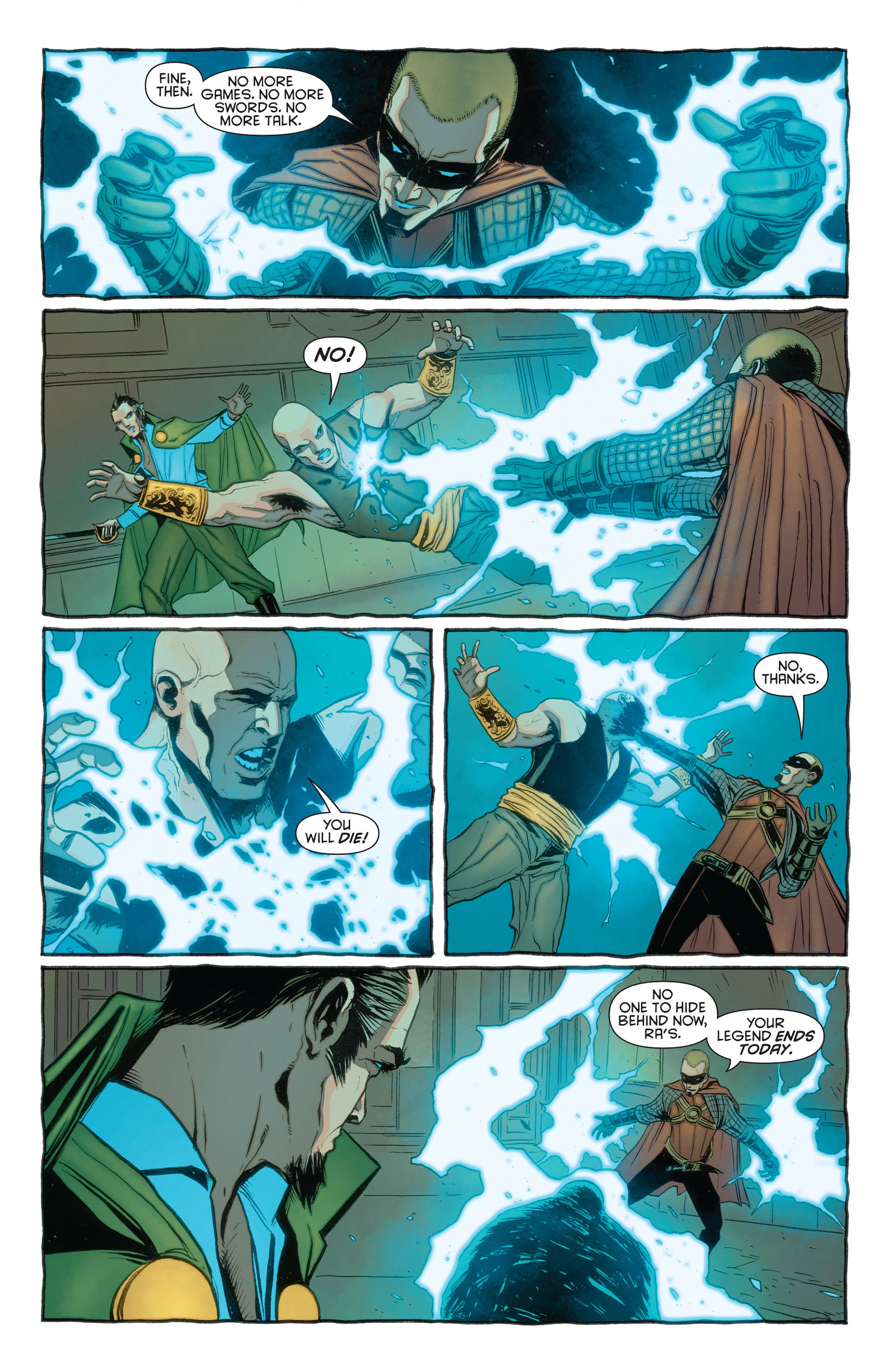 Read online Batman and Robin (2011) comic -  Issue #23.3 - 16