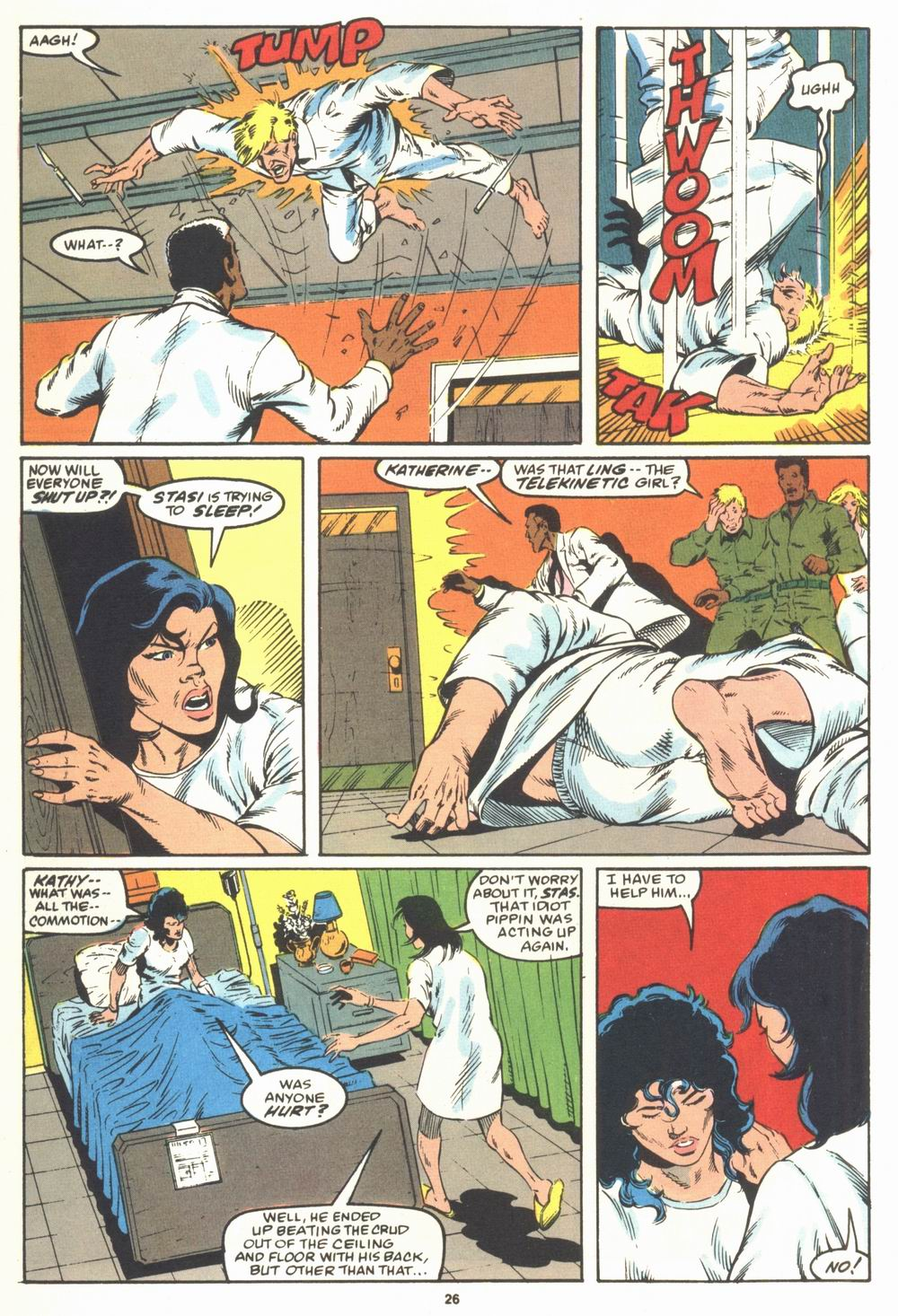 Read online Justice (1986) comic -  Issue #23 - 28