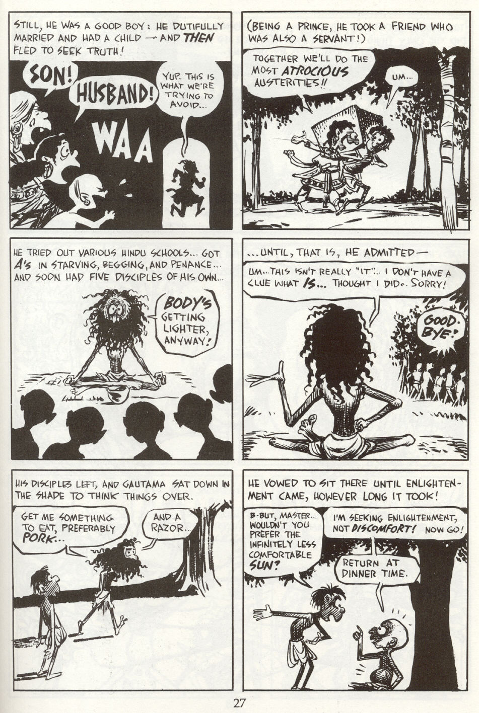 Read online The Cartoon History of the Universe comic -  Issue #8 - 30