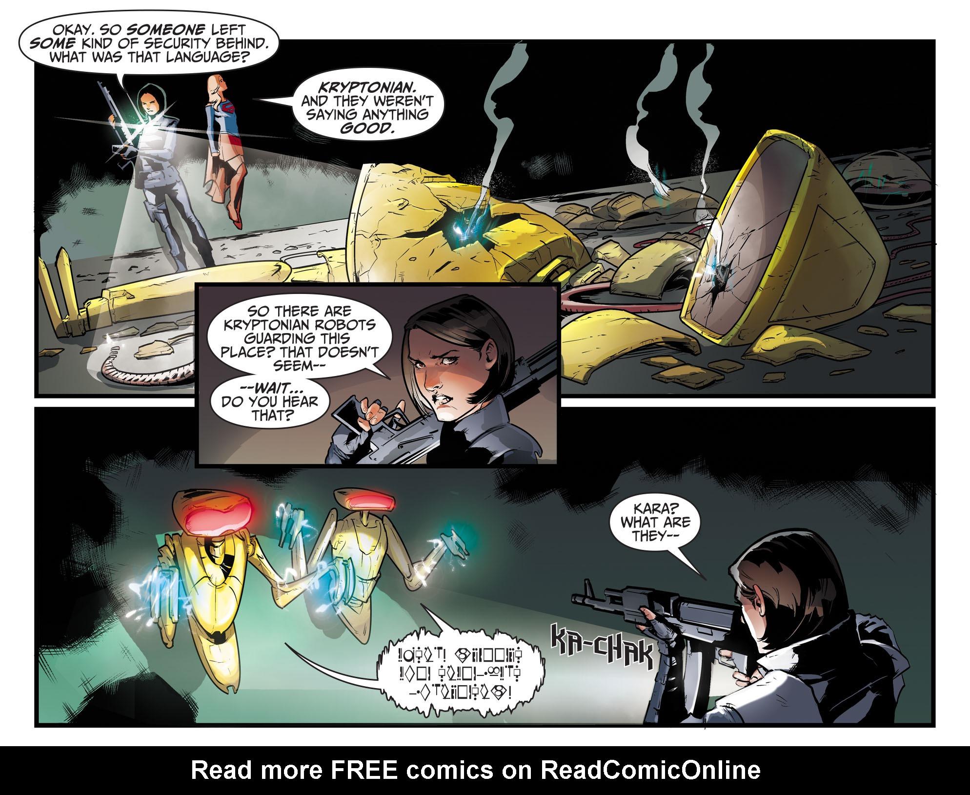 Read online Adventures of Supergirl comic -  Issue #8 - 17