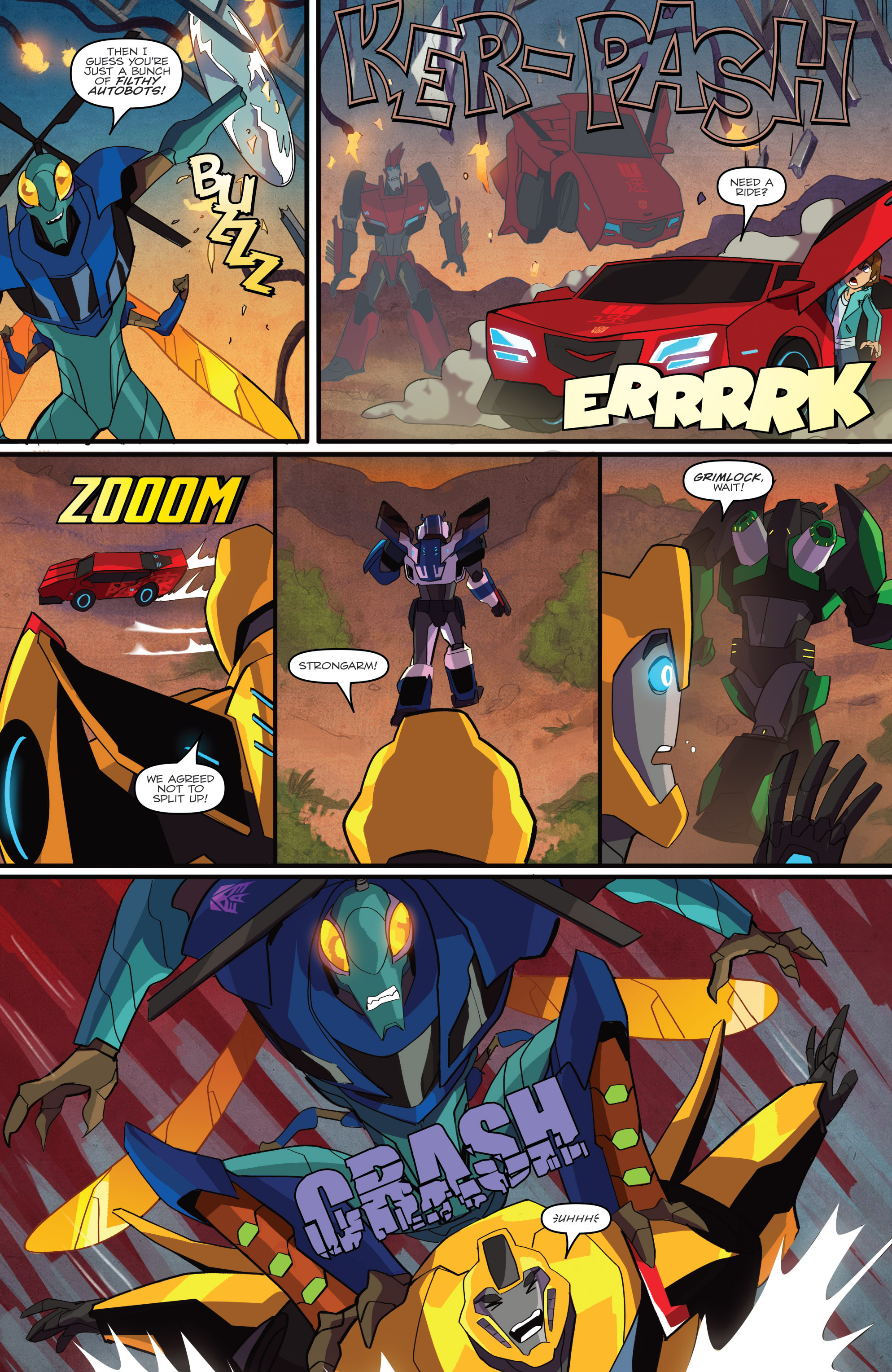 Read online Transformers: Robots In Disguise (2015) comic -  Issue #1 - 16