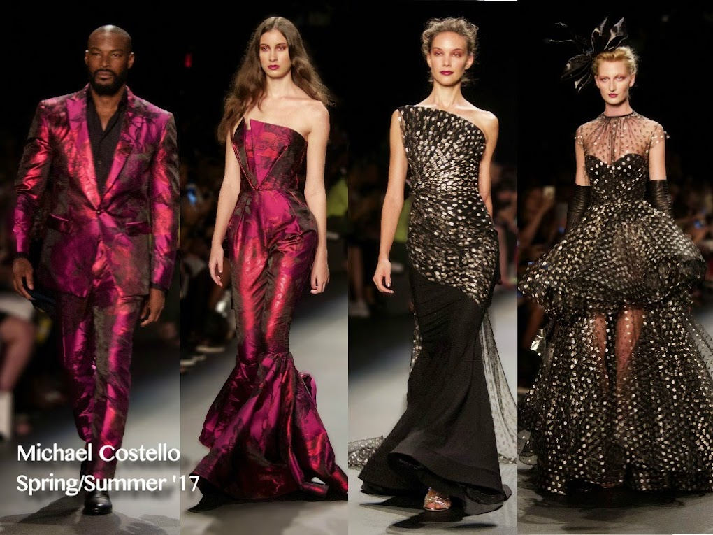 Michael Costello Spring/Summer '17 Runway Show
