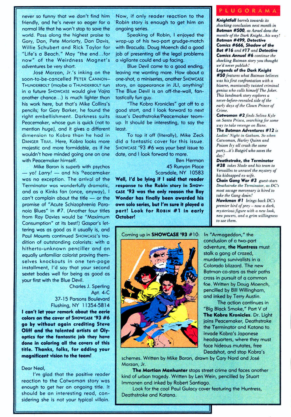 Read online Showcase '93 comic -  Issue #9 - 40