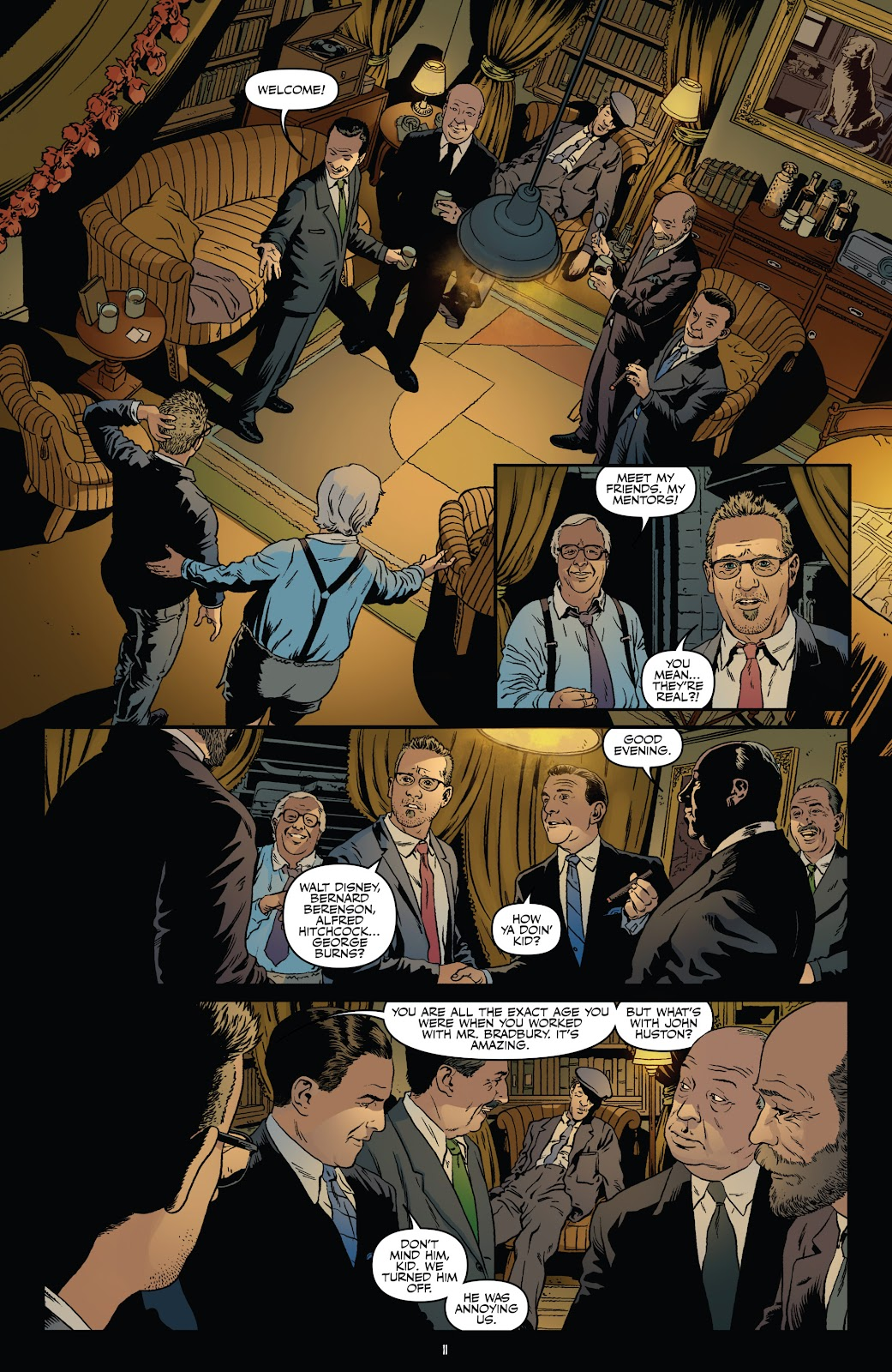 Read online Shadow Show: Stories in Celebration of Ray Bradbury comic -  Issue #3 - 13