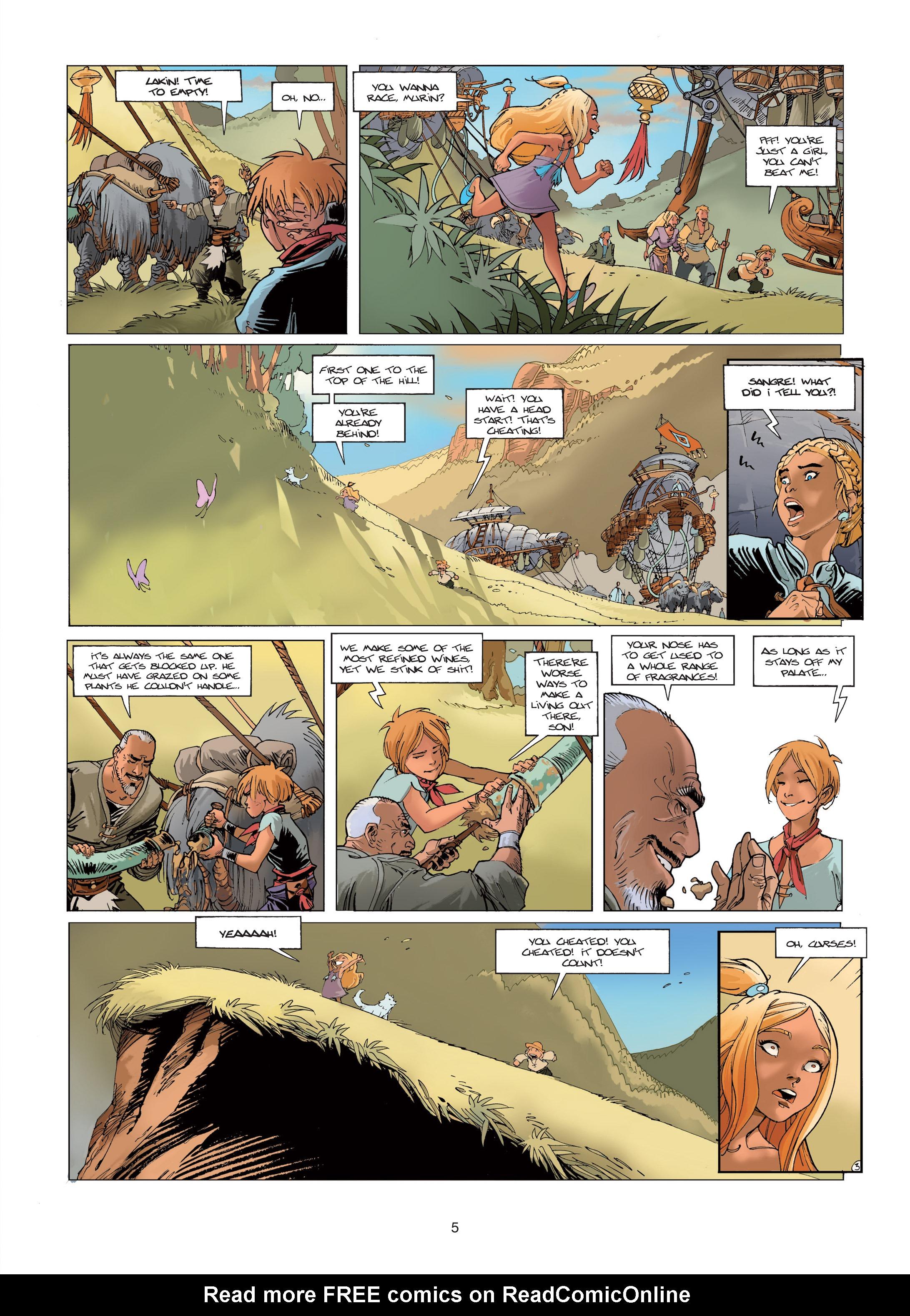 Read online Sangre Vol. 1: Sangre the Survivor comic -  Issue # Full - 5