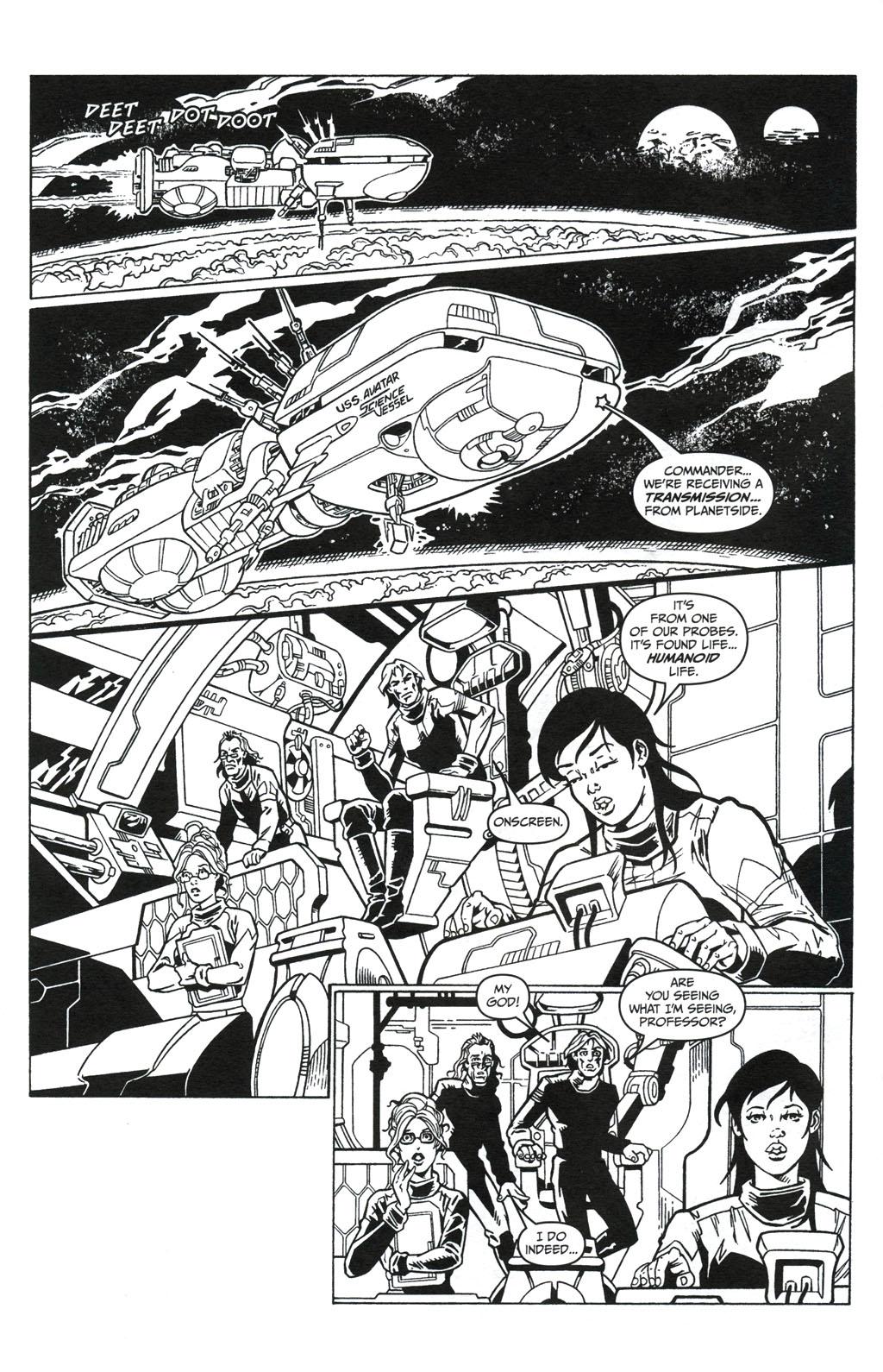 Read online Jungle Fantasy (2002) comic -  Issue #5 - 6
