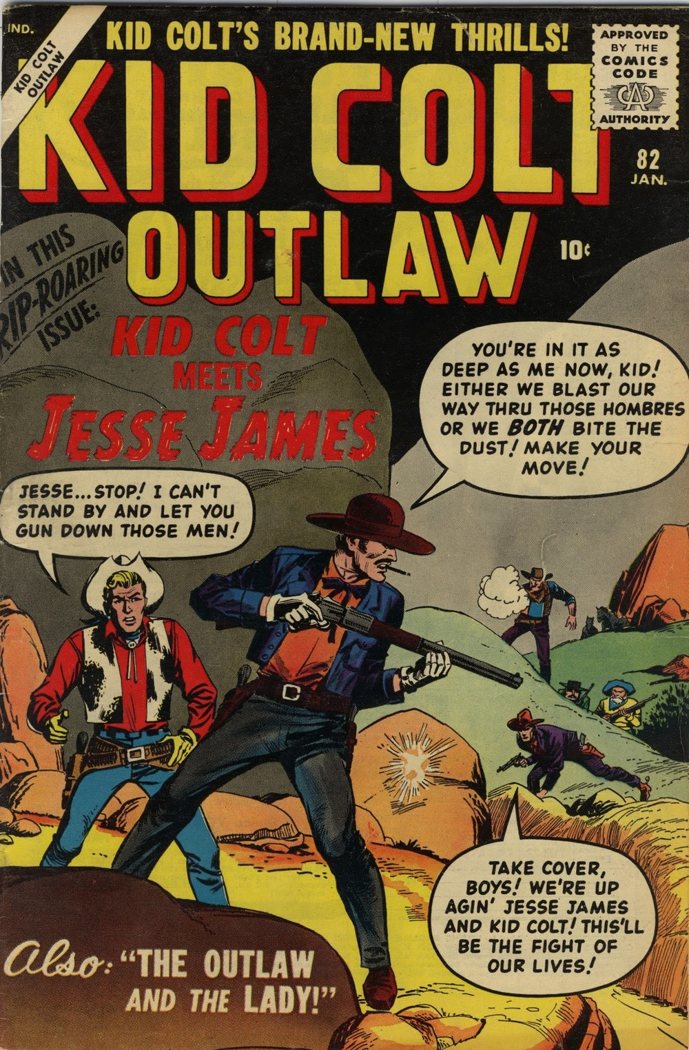 Kid Colt Outlaw issue 82 - Page 1