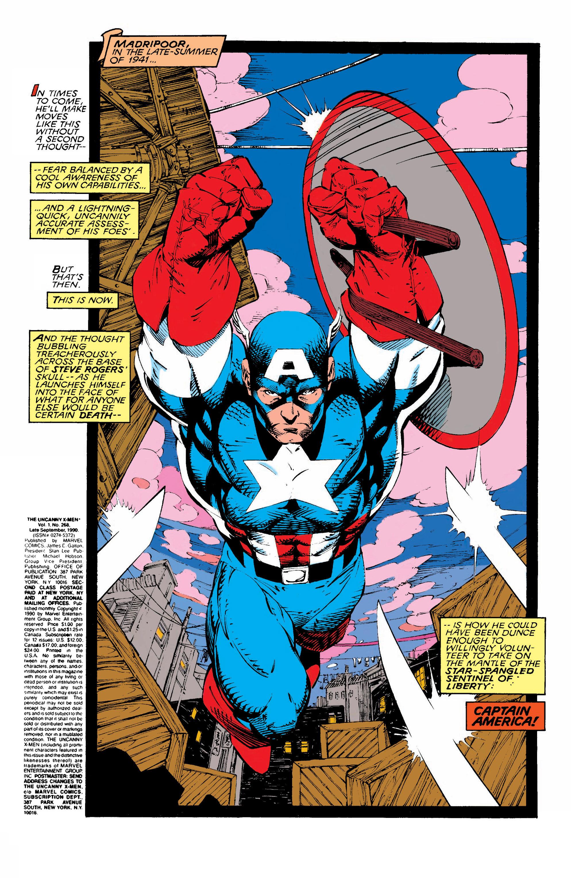 Read online Uncanny X-Men (1963) comic -  Issue #268 - 2