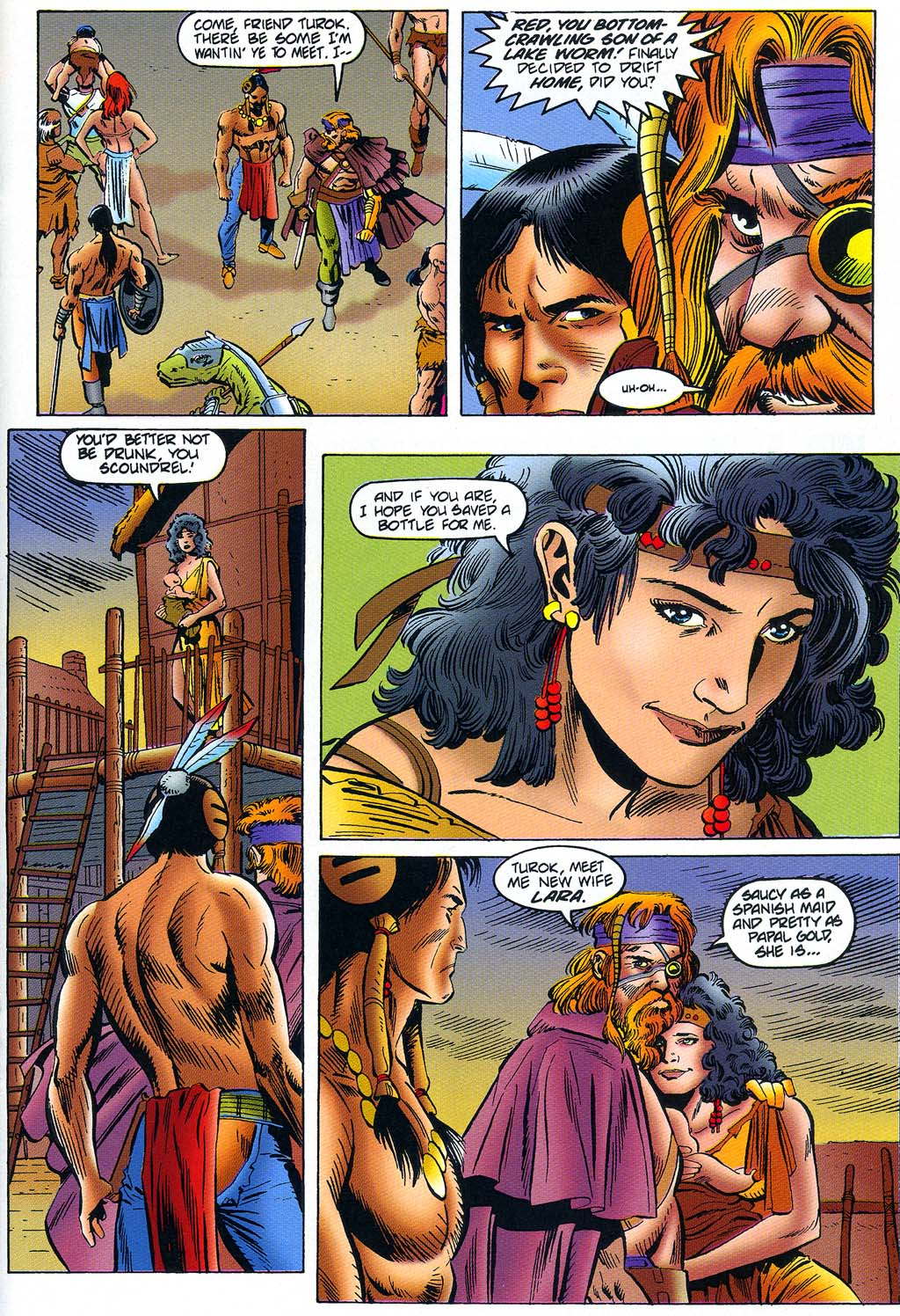 Read online Turok, Dinosaur Hunter (1993) comic -  Issue #45 - 18