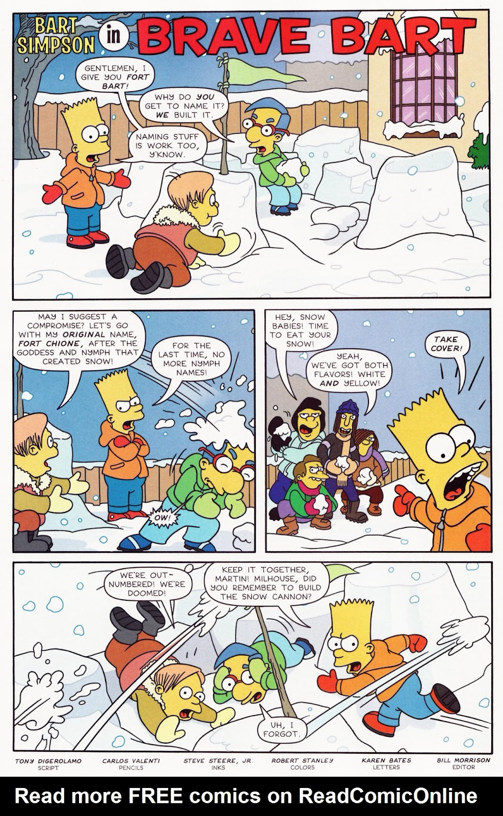 Read online The Simpsons Winter Wingding comic -  Issue #2 - 24