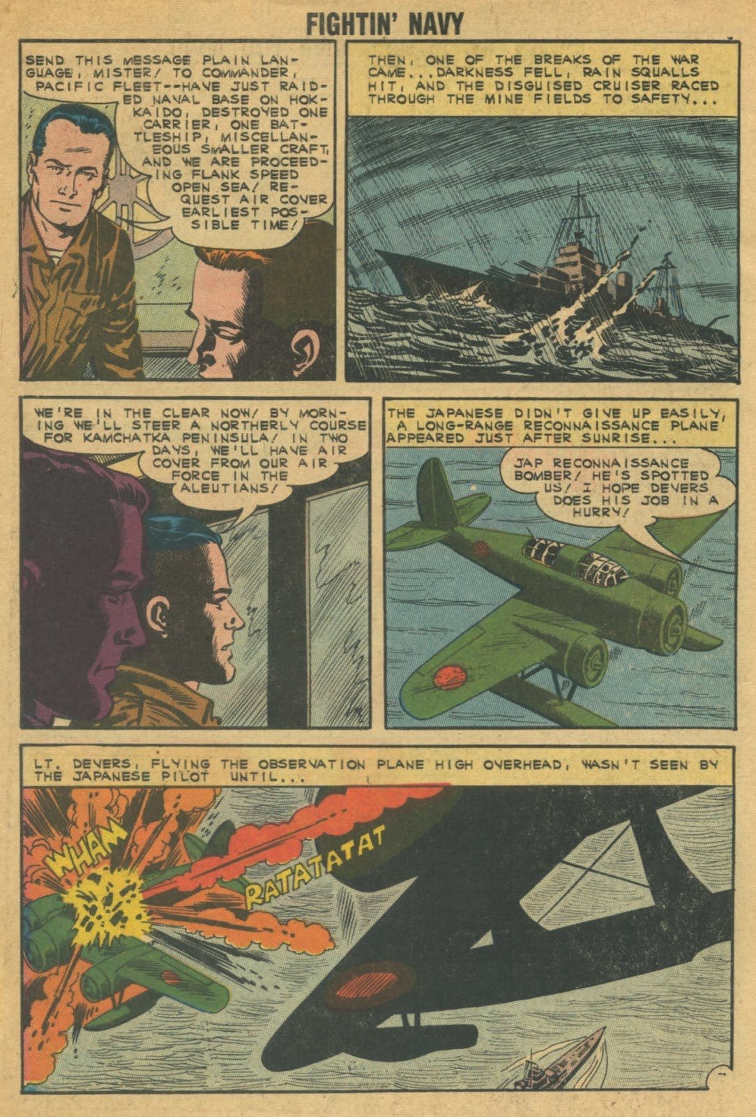Read online Fightin' Navy comic -  Issue #103 - 10