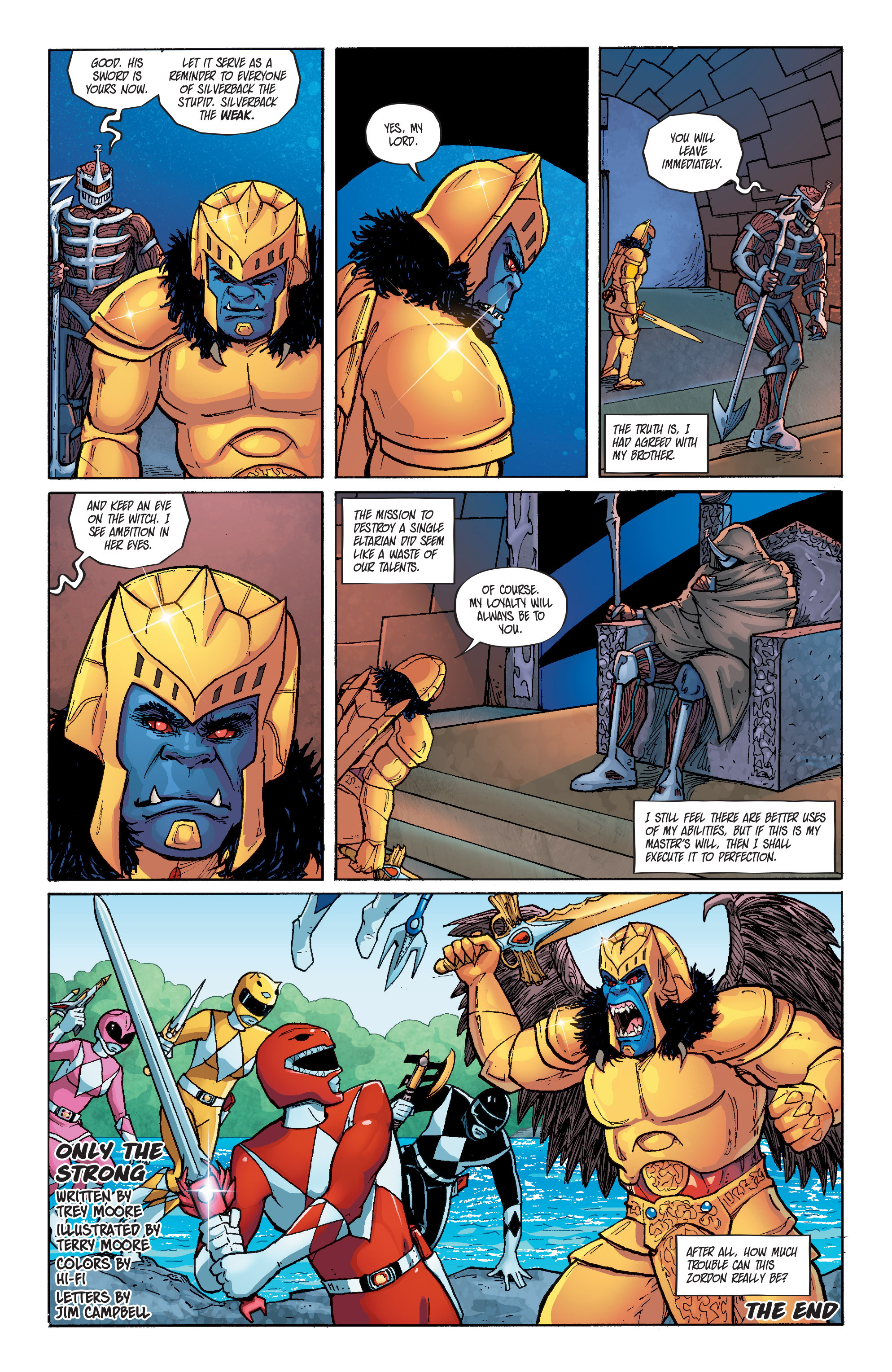 Read online Mighty Morphin Power Rangers comic -  Issue # _Annual 1 - 30