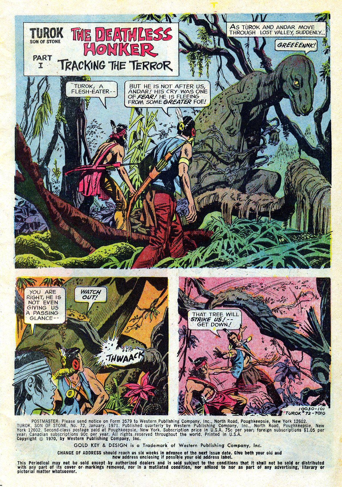 Read online Turok, Son of Stone comic -  Issue #72 - 3