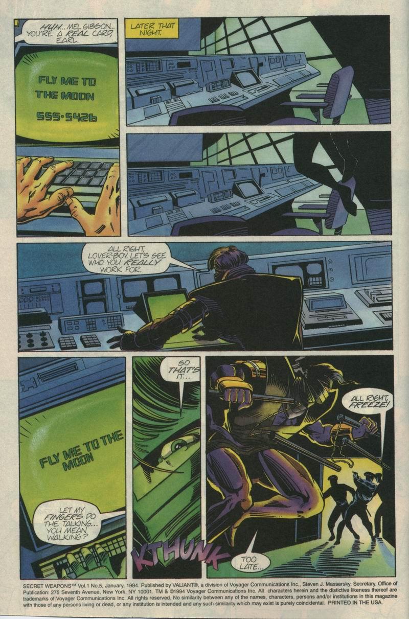 Read online Secret Weapons comic -  Issue #5 - 3