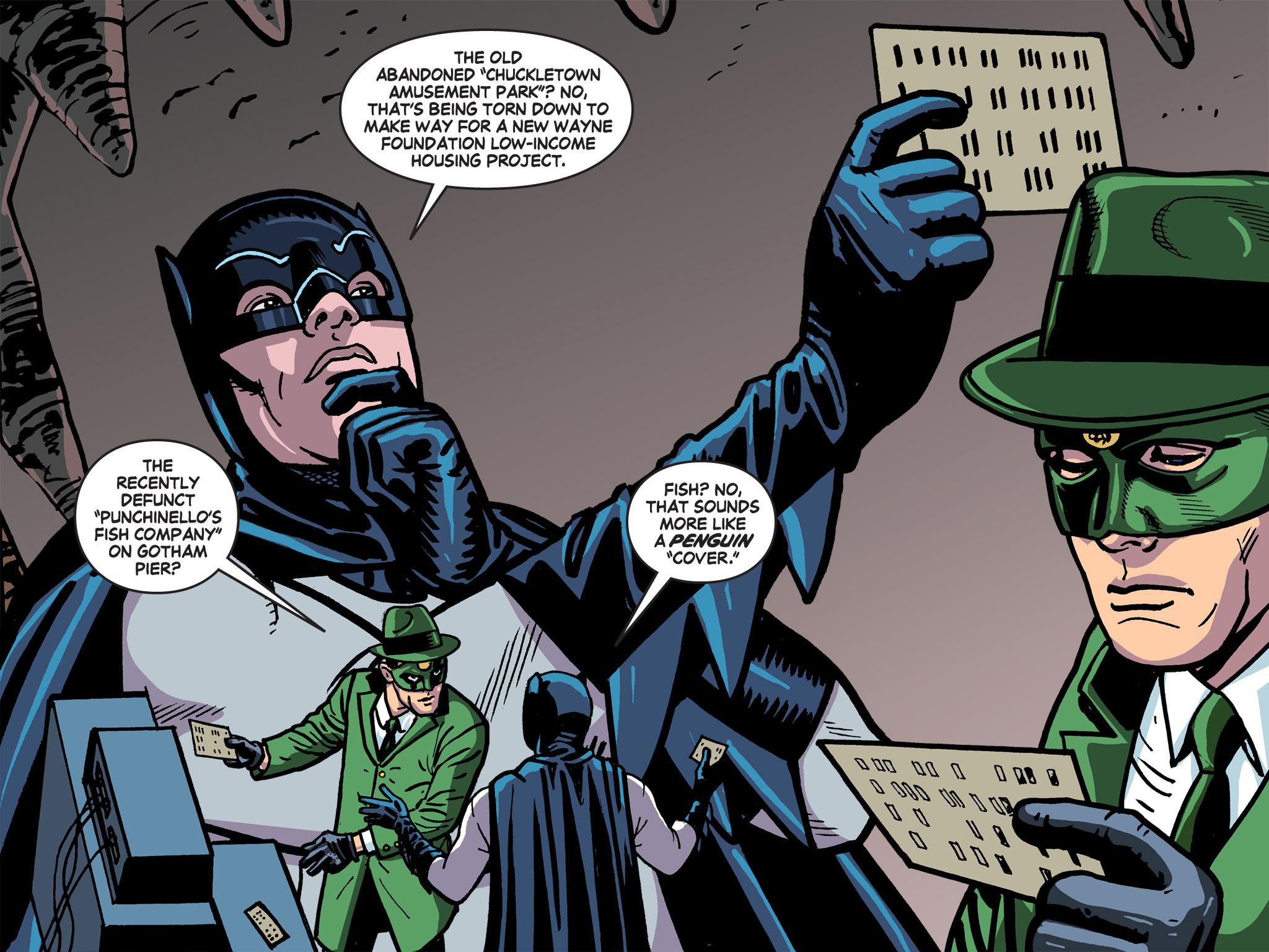 Read online Batman '66 Meets the Green Hornet [II] comic -  Issue #5 - 66