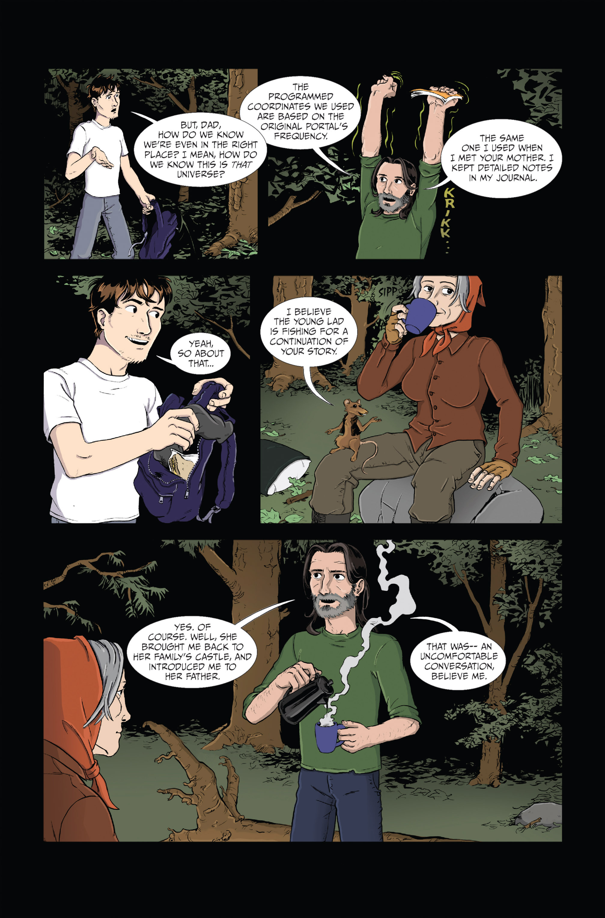 Read online Ehmm Theory: Everything & Small Doses comic -  Issue #1 - 15