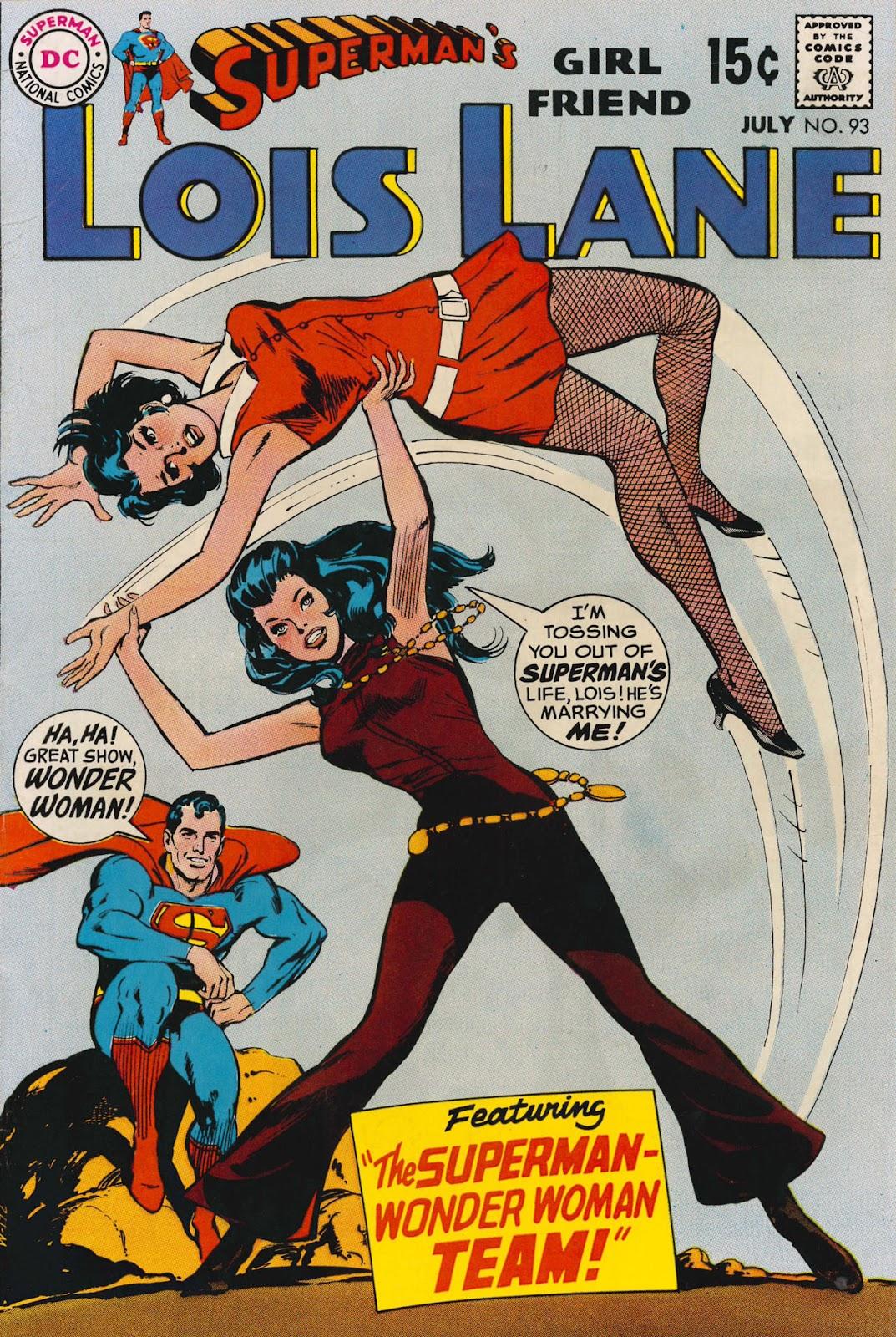 Supermans Girl Friend, Lois Lane 93 Page 1