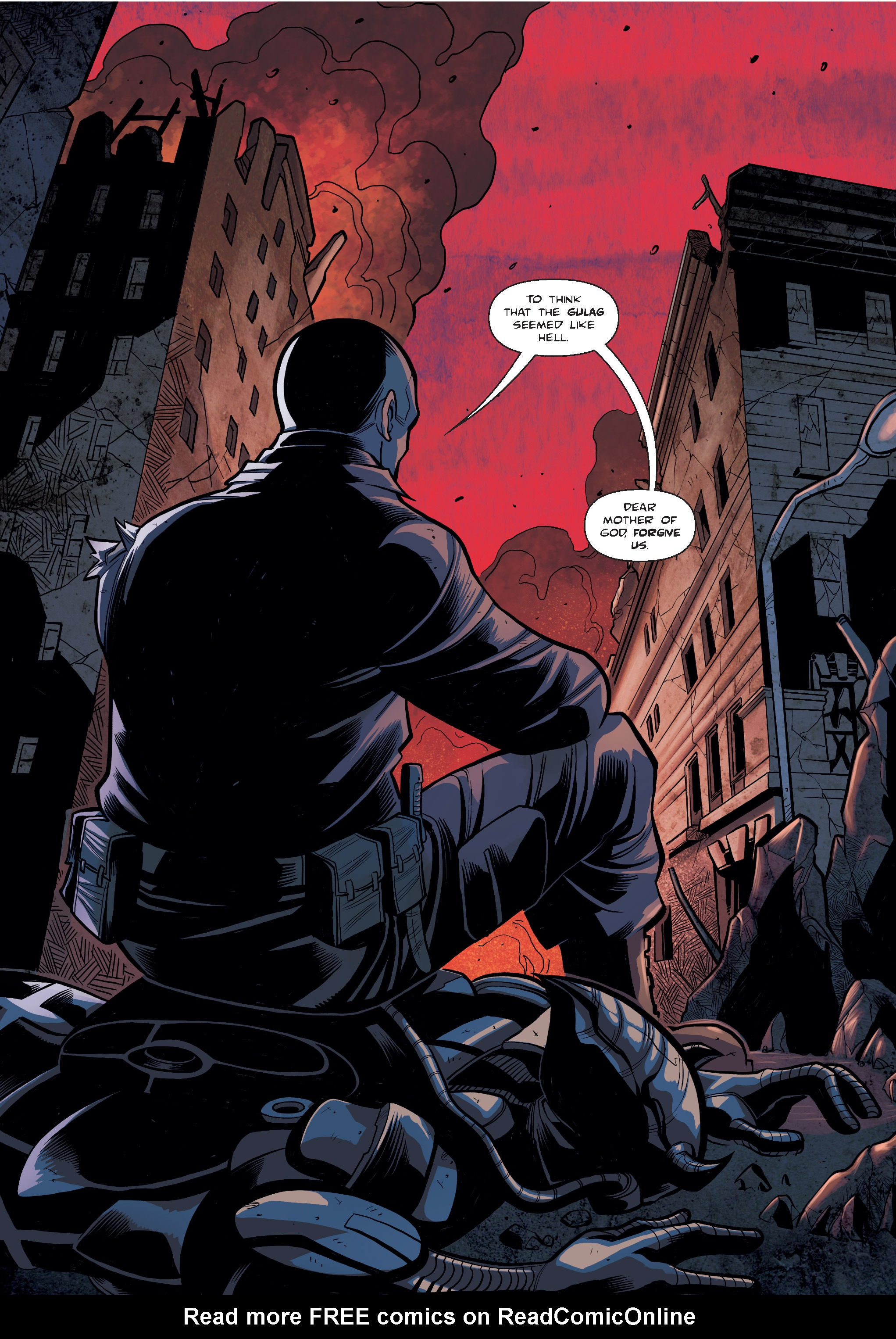 Read online The Shadow of a Terrible Thing comic -  Issue # TPB - 27
