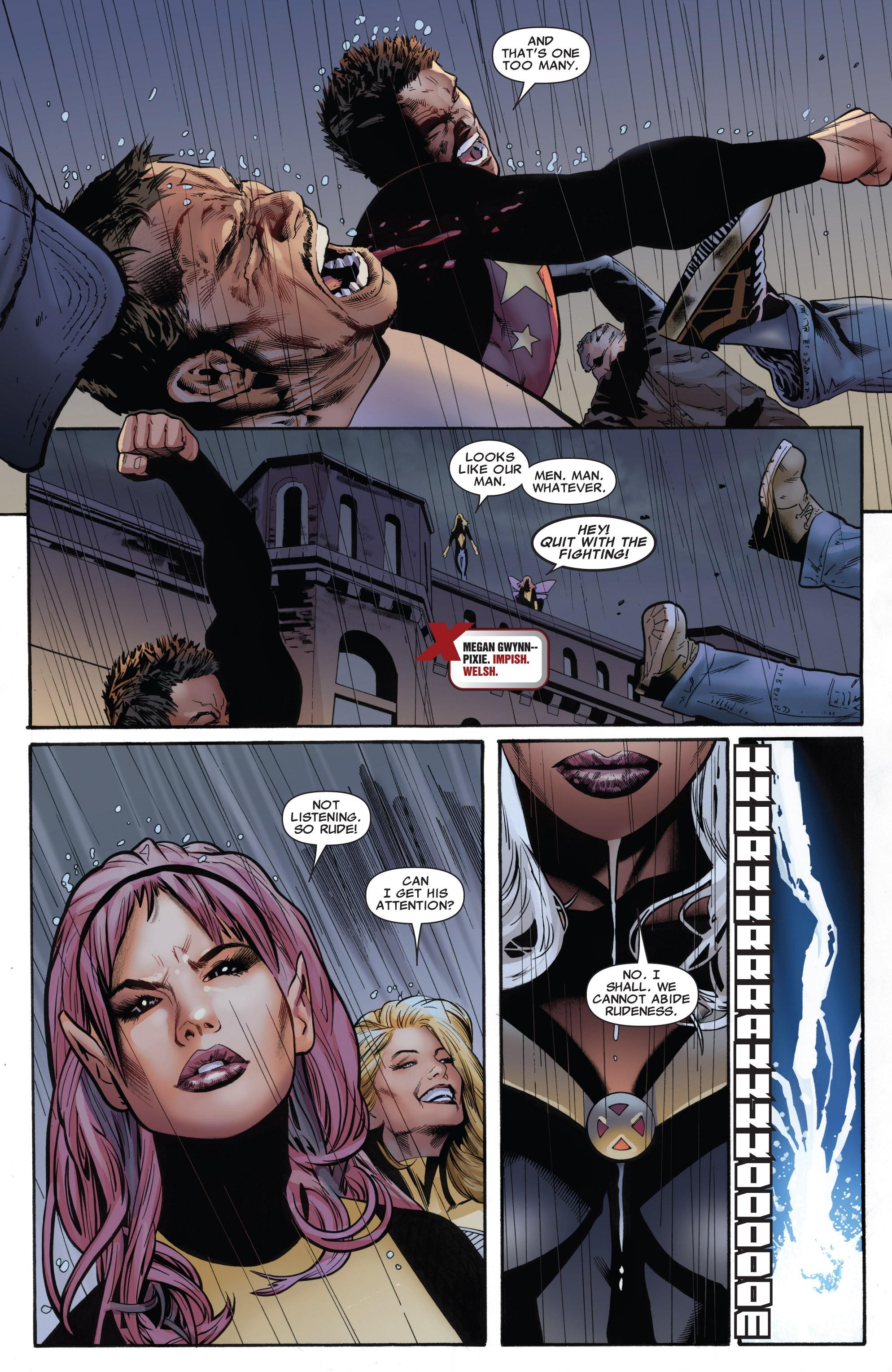Read online Uncanny X-Men (1963) comic -  Issue #531 - 16