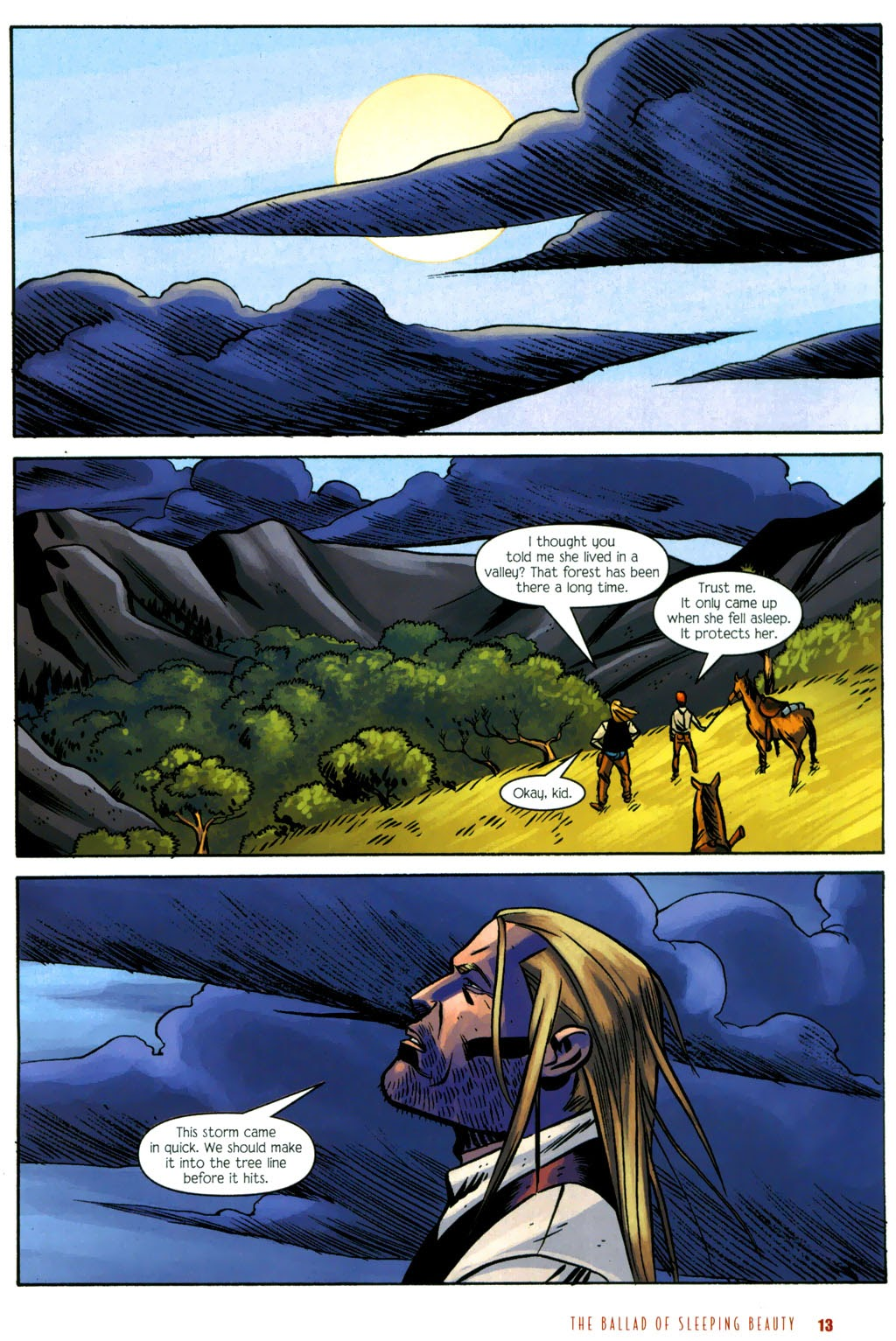 Read online The Ballad of Sleeping Beauty comic -  Issue #6 - 15