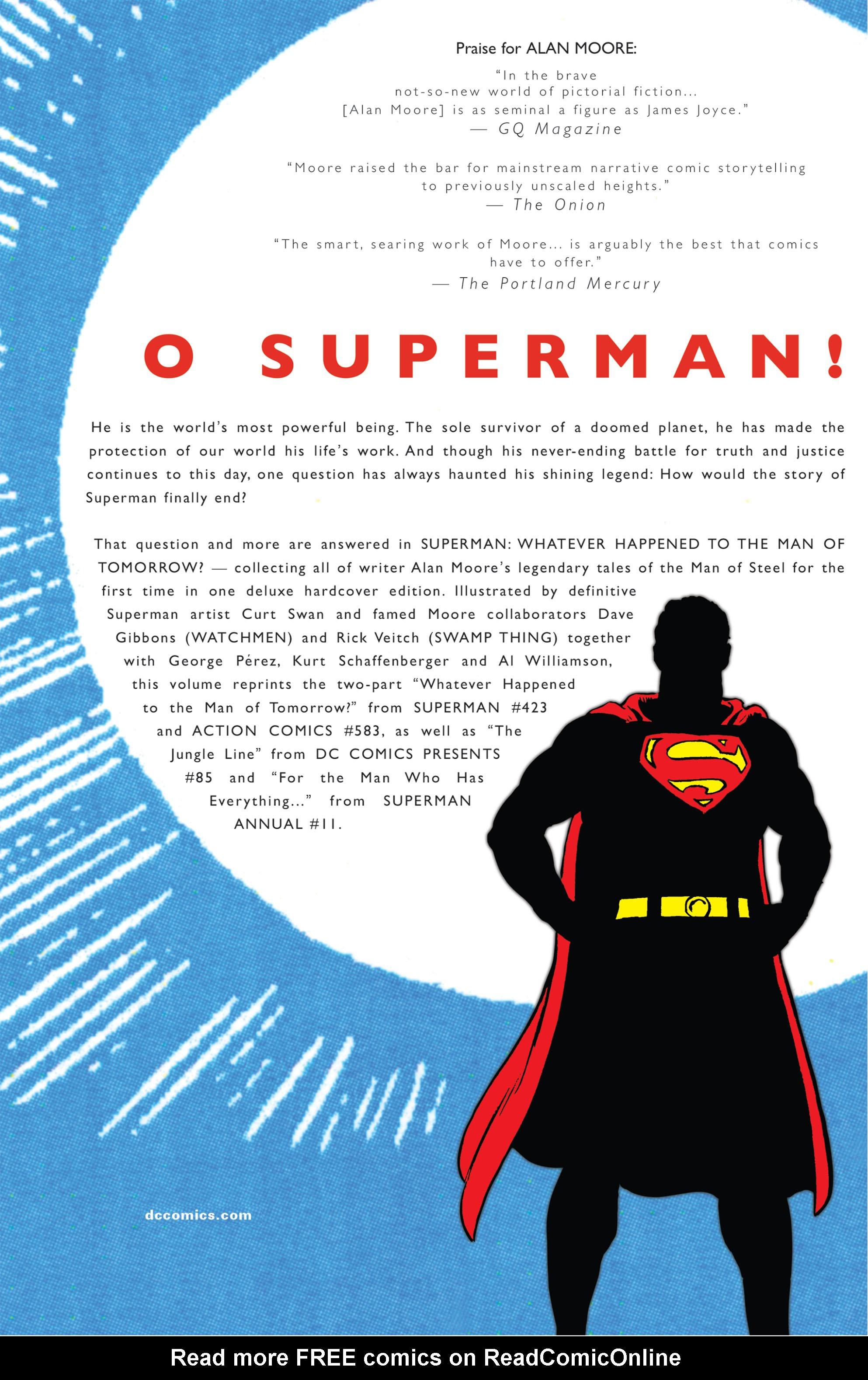 Read online Superman: Whatever Happened to the Man of Tomorrow? comic -  Issue # TPB - 128