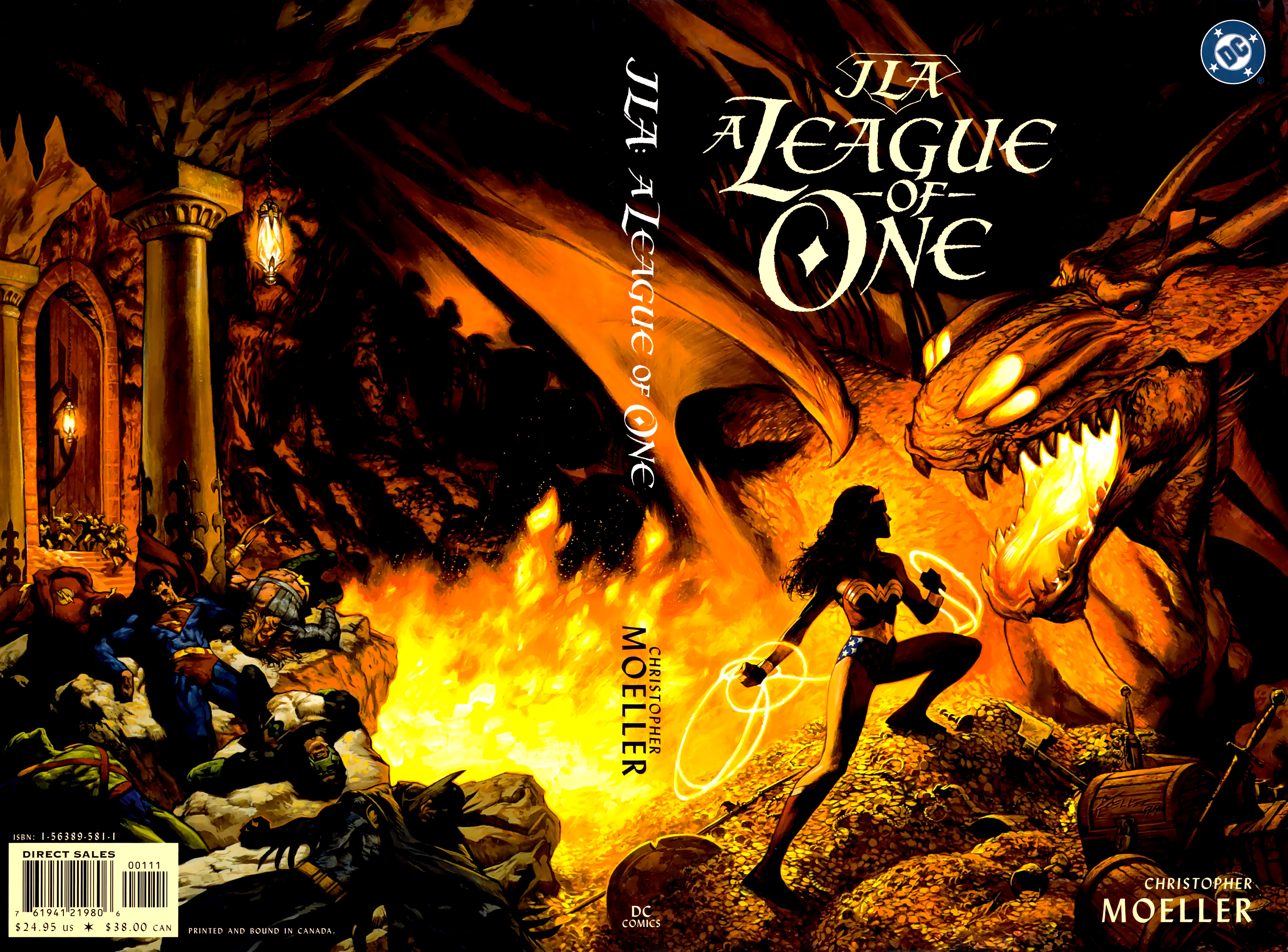 Read online JLA: A League of One comic -  Issue # Full - 1