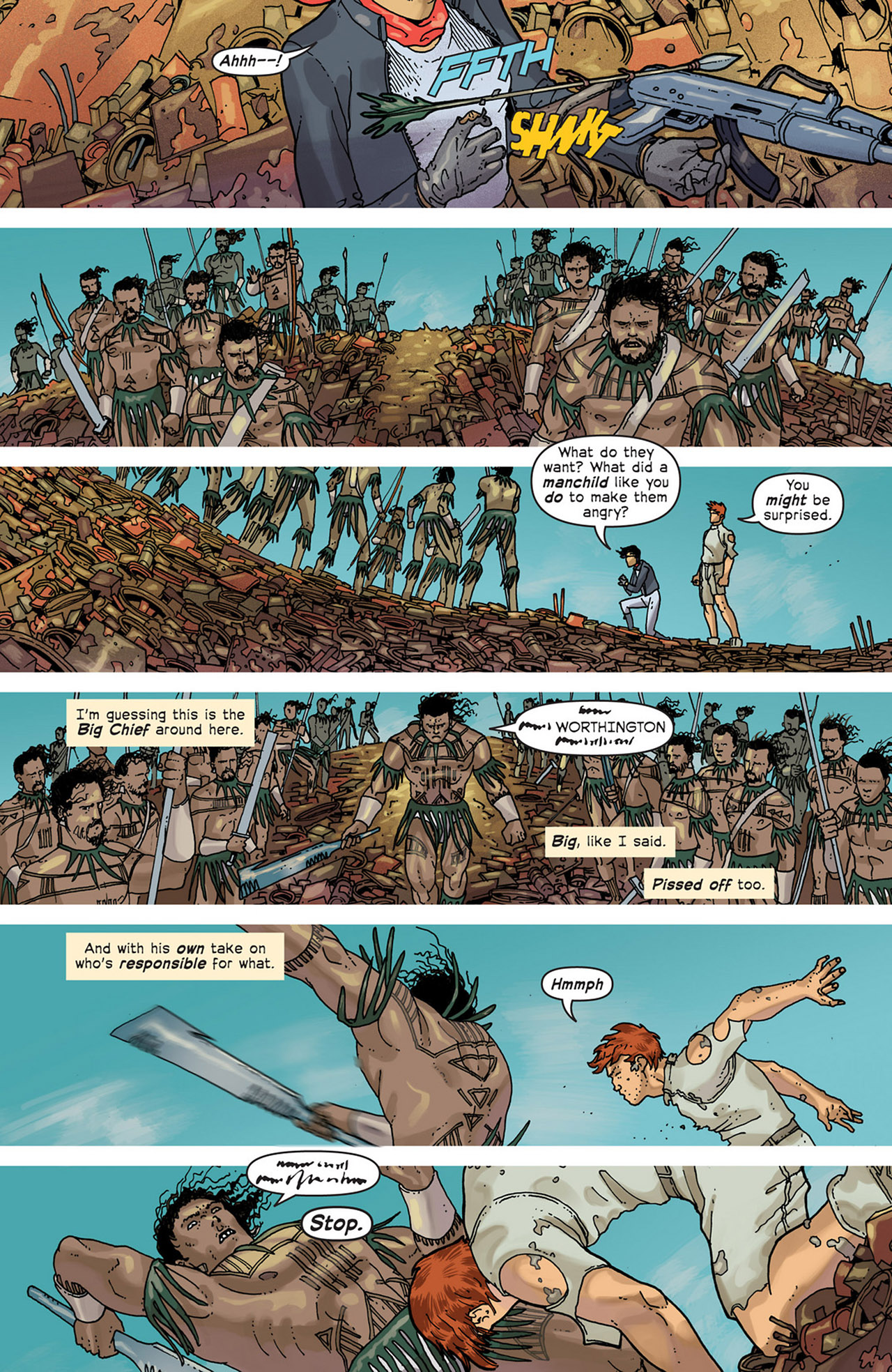 Read online Great Pacific comic -  Issue #5 - 17