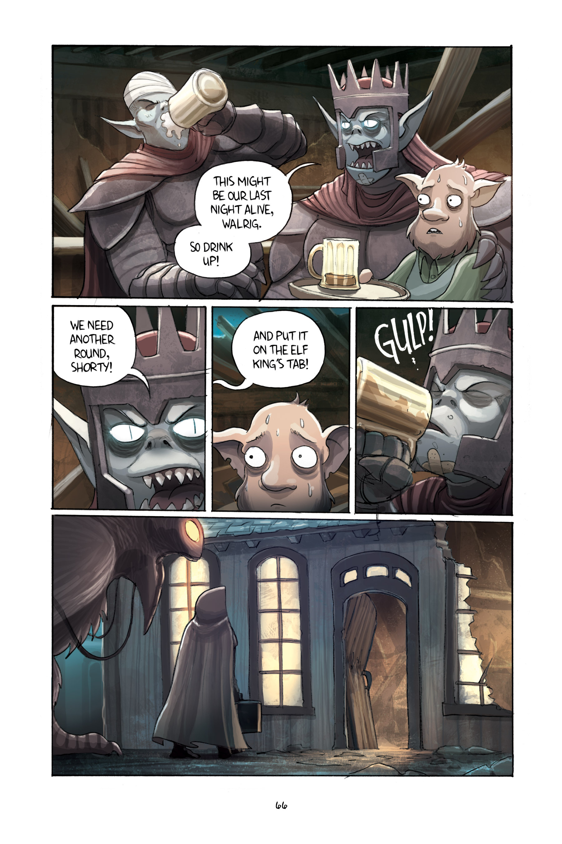 Read online Amulet comic -  Issue #3 - 64