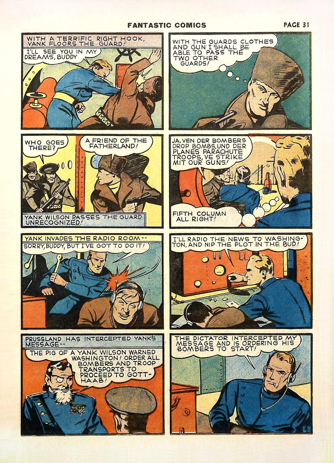 Read online Fantastic Comics comic -  Issue #11 - 34