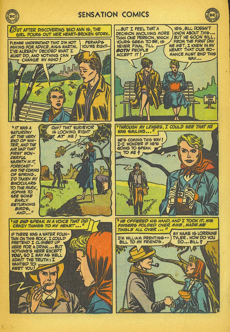 Read online Sensation (Mystery) Comics comic -  Issue #104 - 19