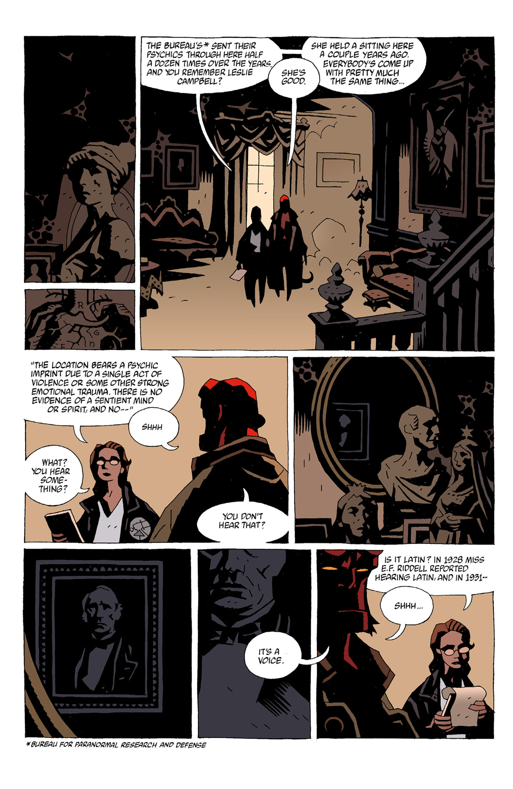 Read online Hellboy: The Troll Witch and Others comic -  Issue # TPB - 58