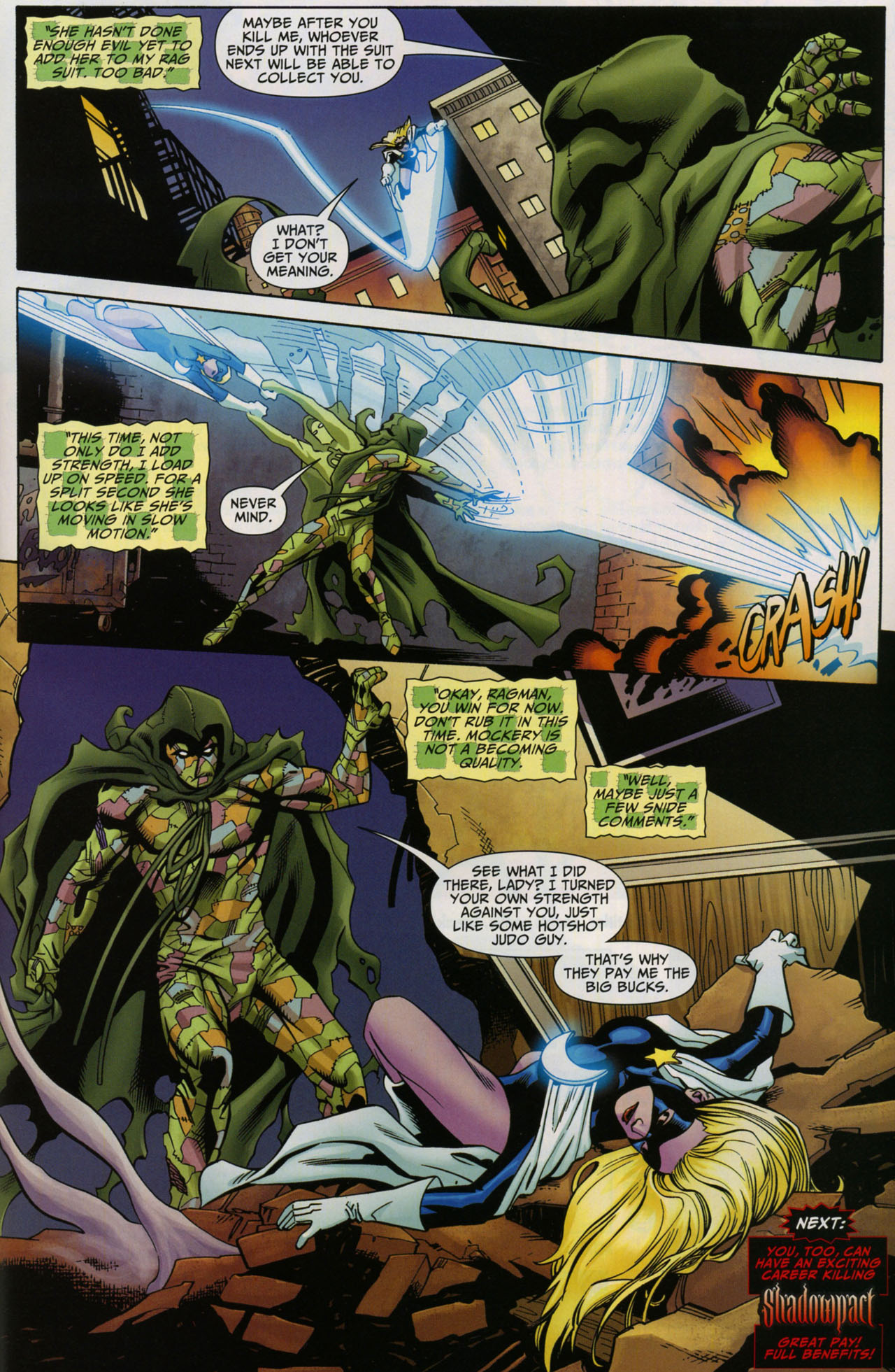 Read online Shadowpact comic -  Issue #5 - 22