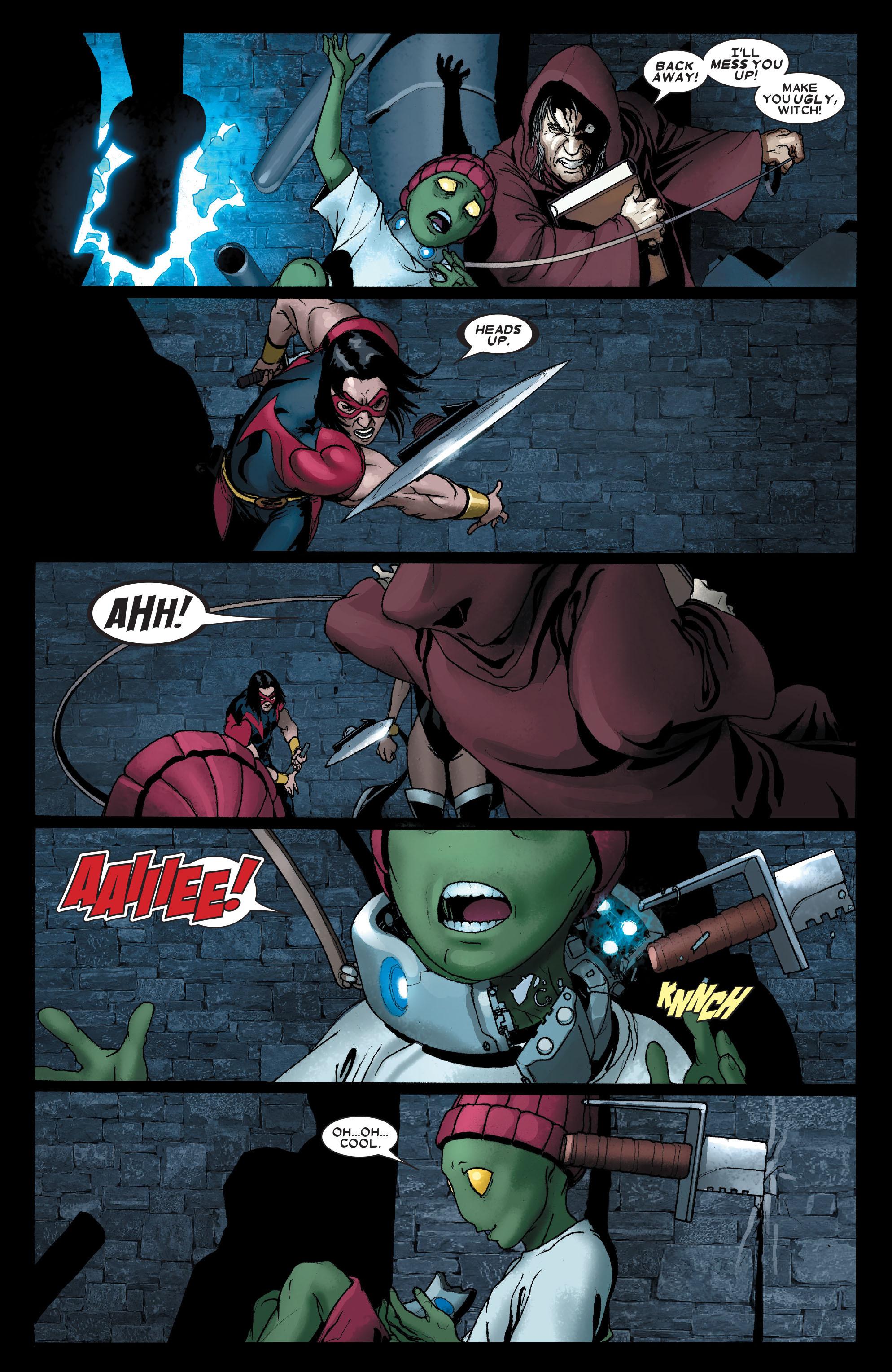 Read online Uncanny X-Men (1963) comic -  Issue #491 - 16