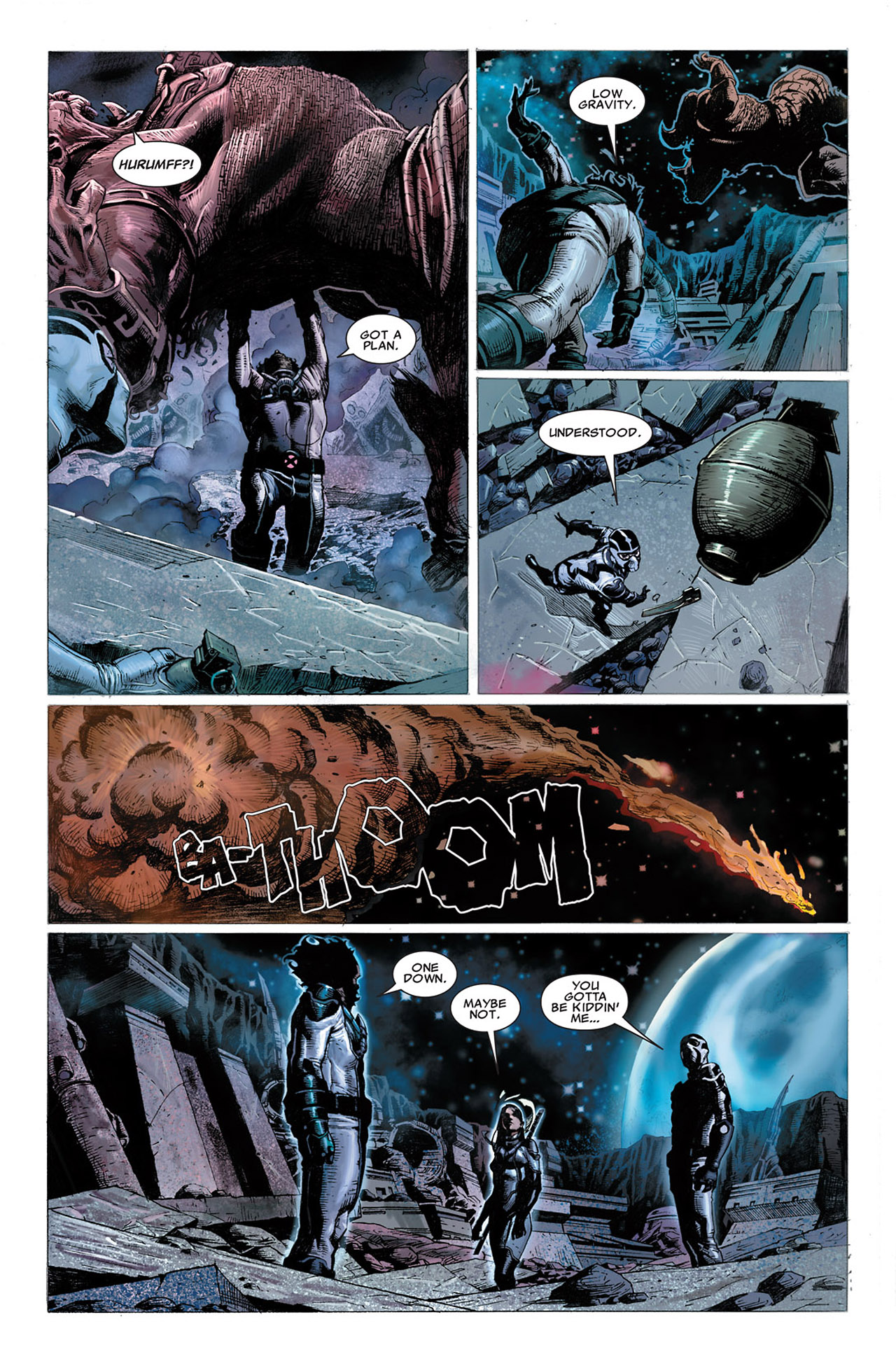 Read online Uncanny X-Force (2010) comic -  Issue #2 - 22