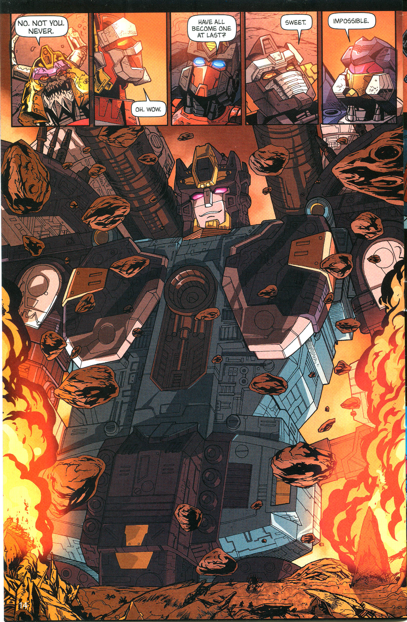 Read online Transformers: Collectors' Club comic -  Issue #12 - 14
