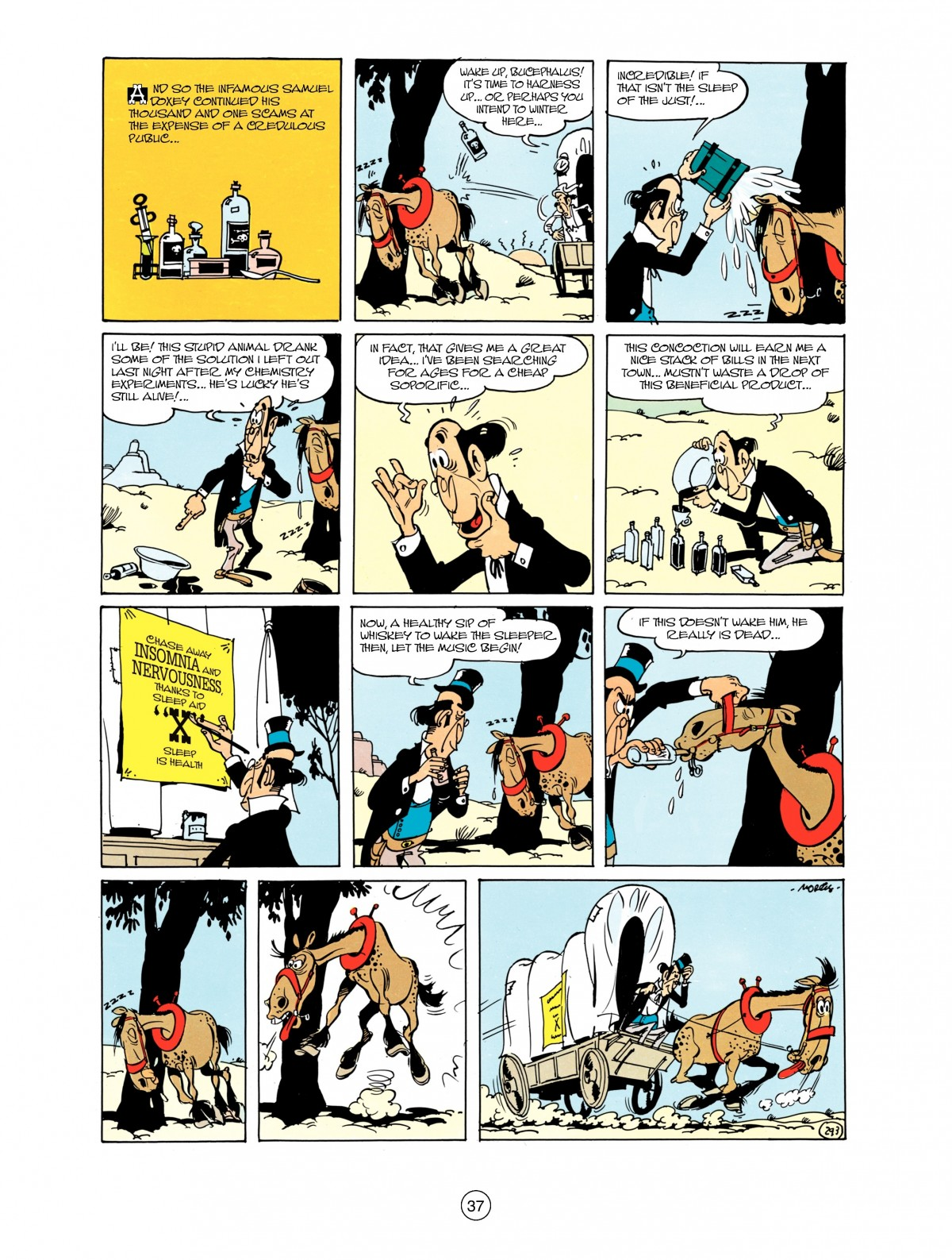 Read online A Lucky Luke Adventure comic -  Issue #38 - 37