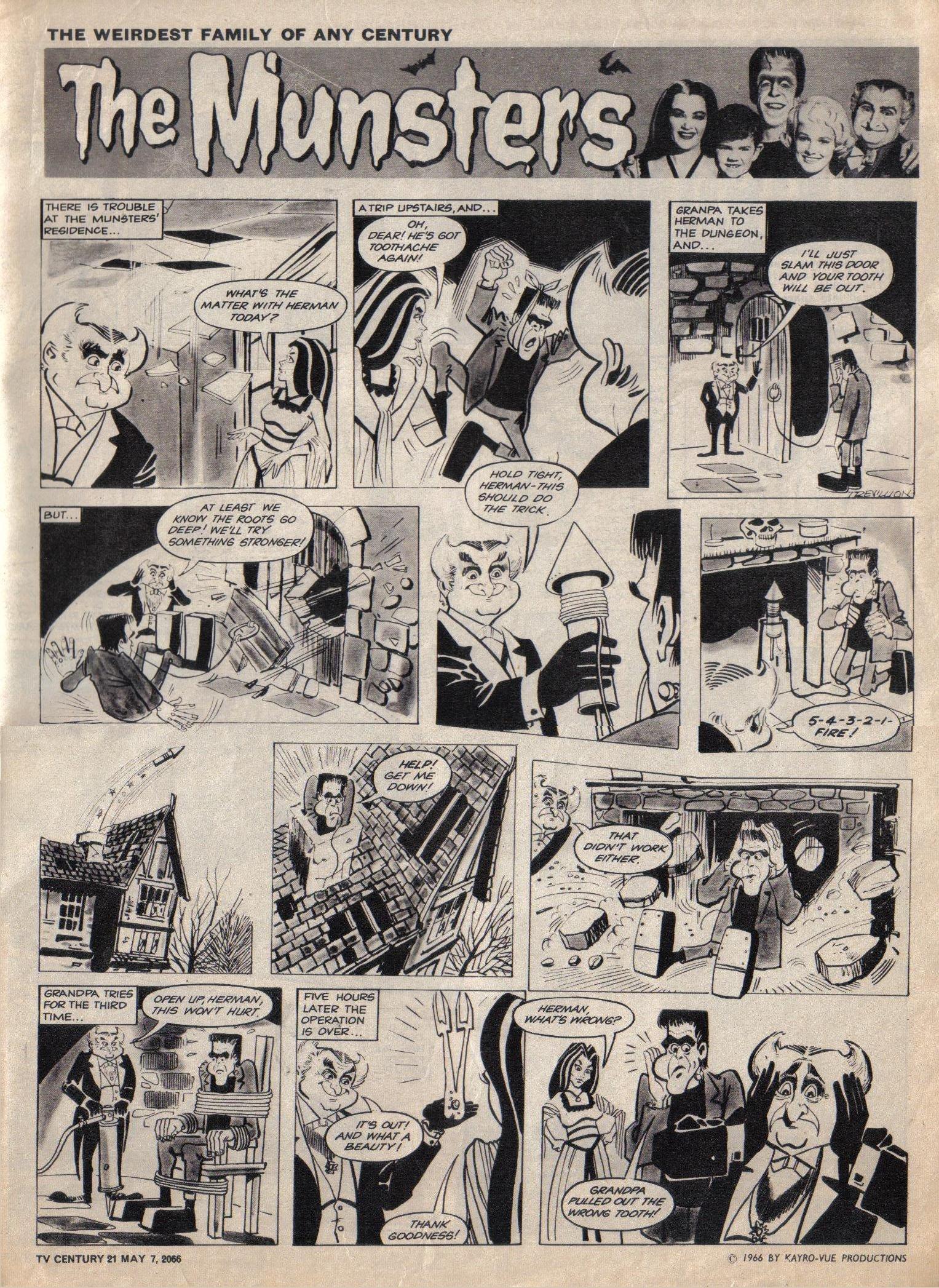 Read online TV Century 21 (TV 21) comic -  Issue #68 - 9