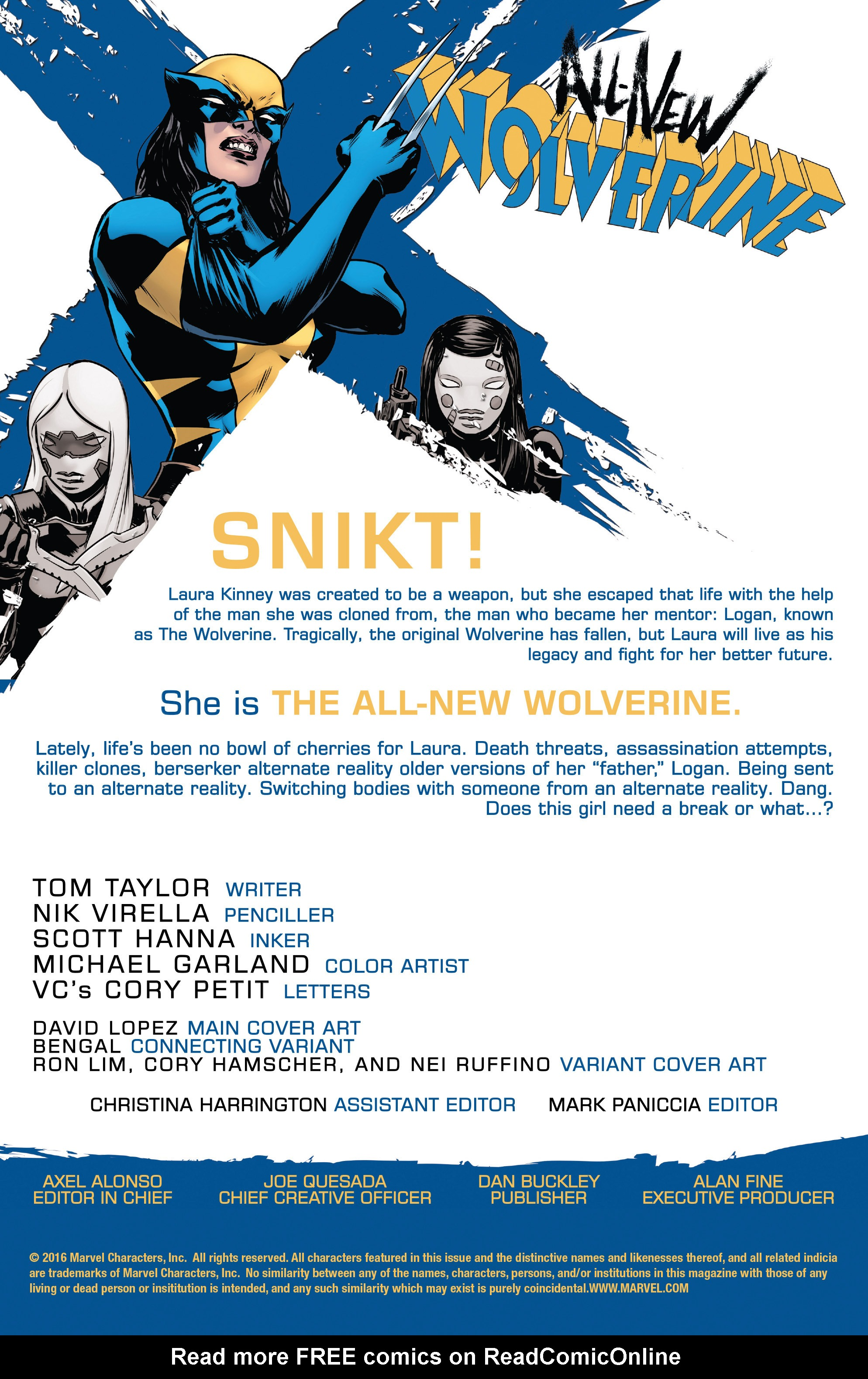 Read online All-New Wolverine (2016) comic -  Issue #13 - 2