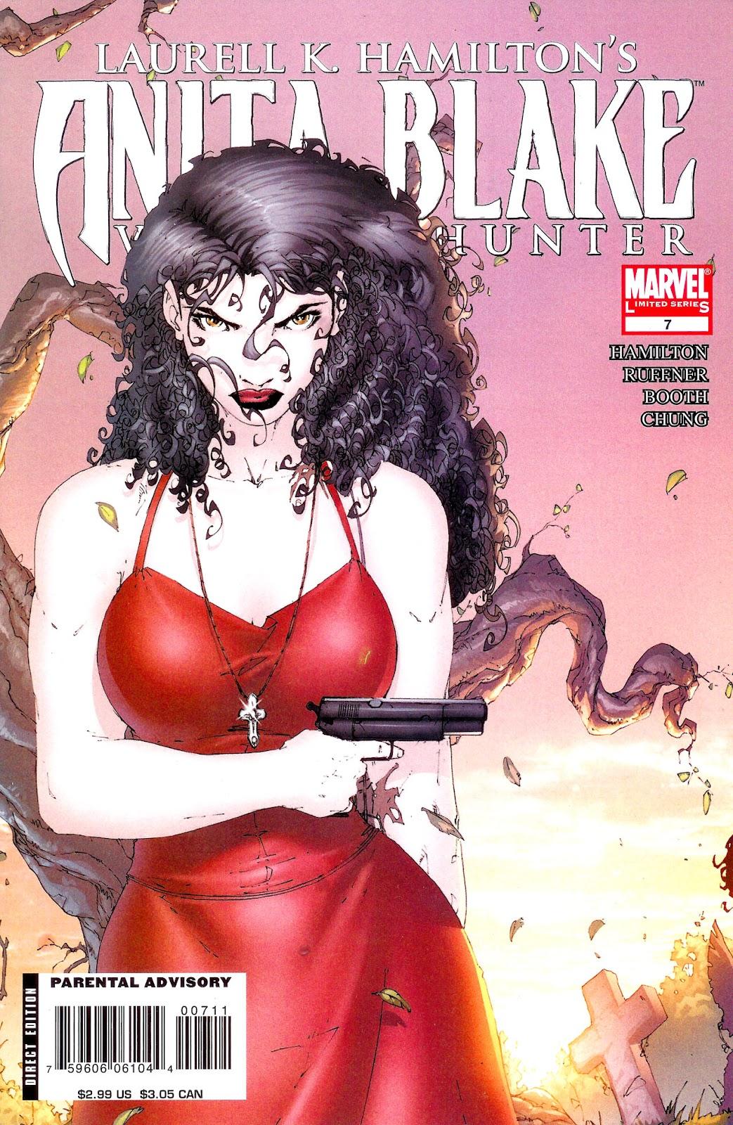 Anita Blake, Vampire Hunter: Guilty Pleasures issue 7 - Page 1
