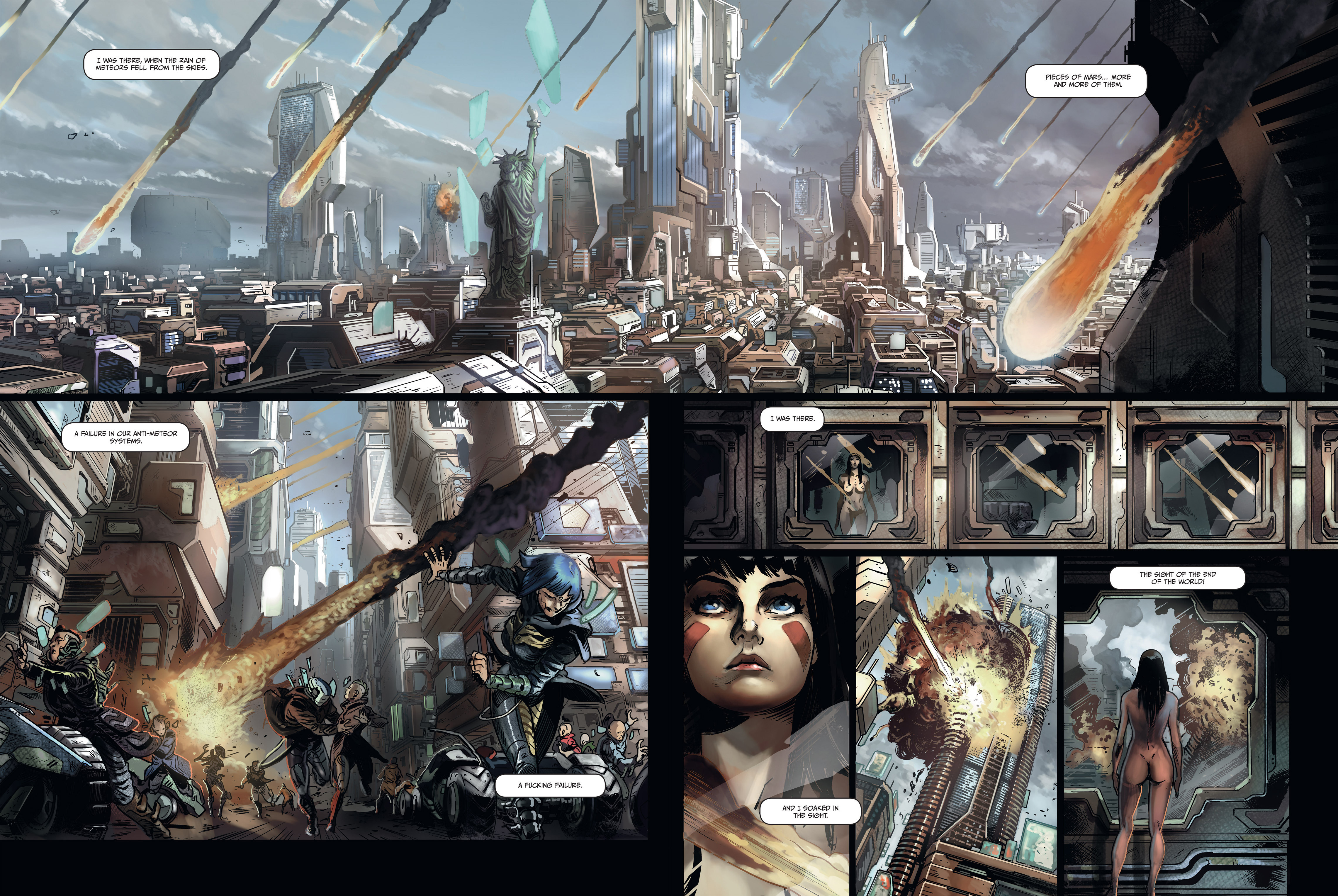 Read online Androïds comic -  Issue #1 - 5