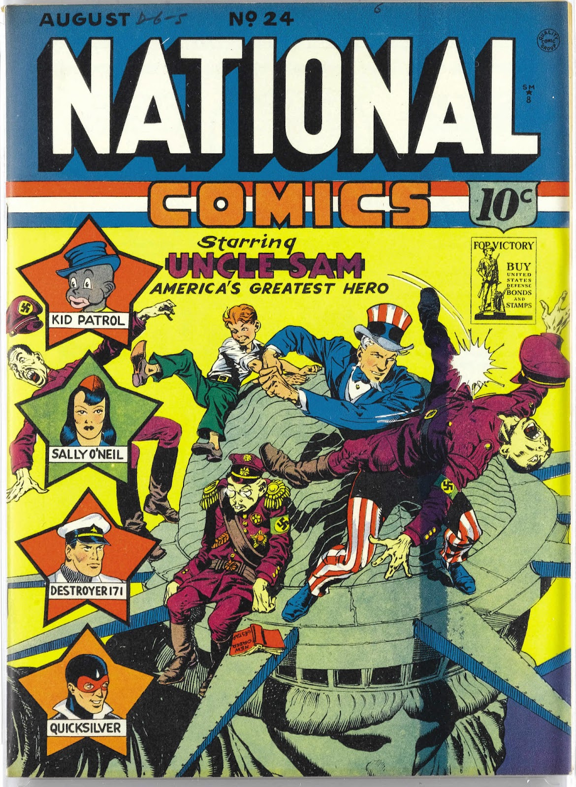 National Comics (1940) issue 24 - Page 1