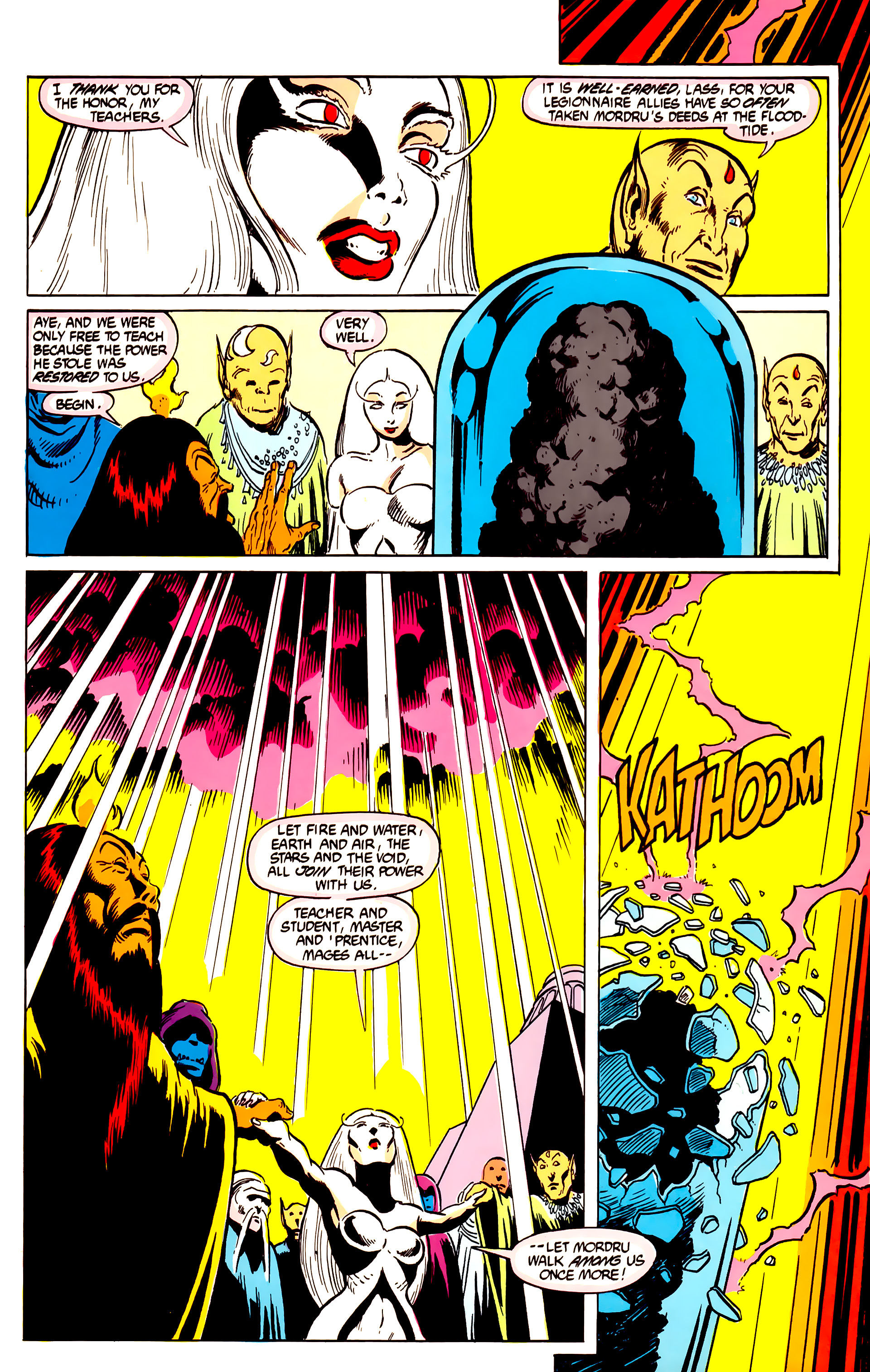 Legion of Super-Heroes (1984) 27 Page 13