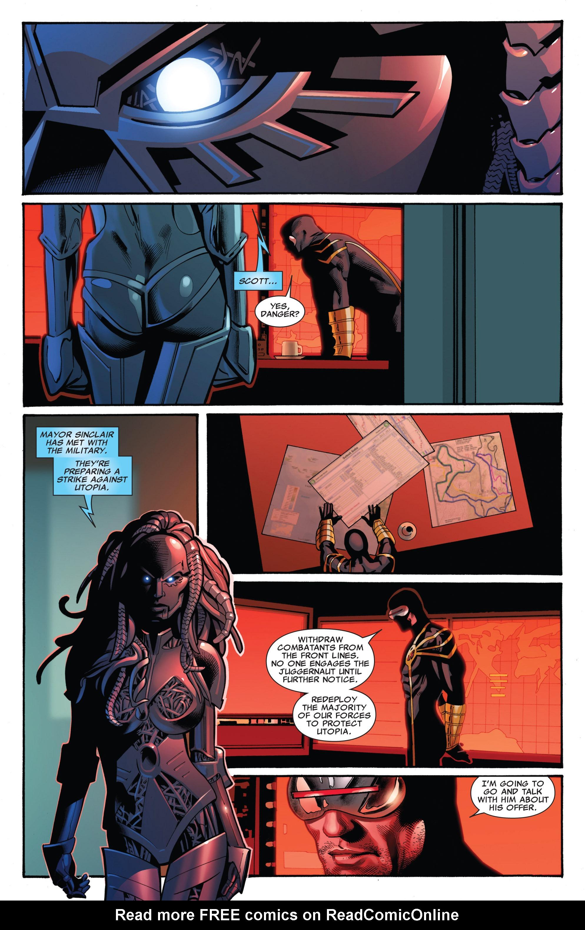 Read online Uncanny X-Men (1963) comic -  Issue #542 - 19