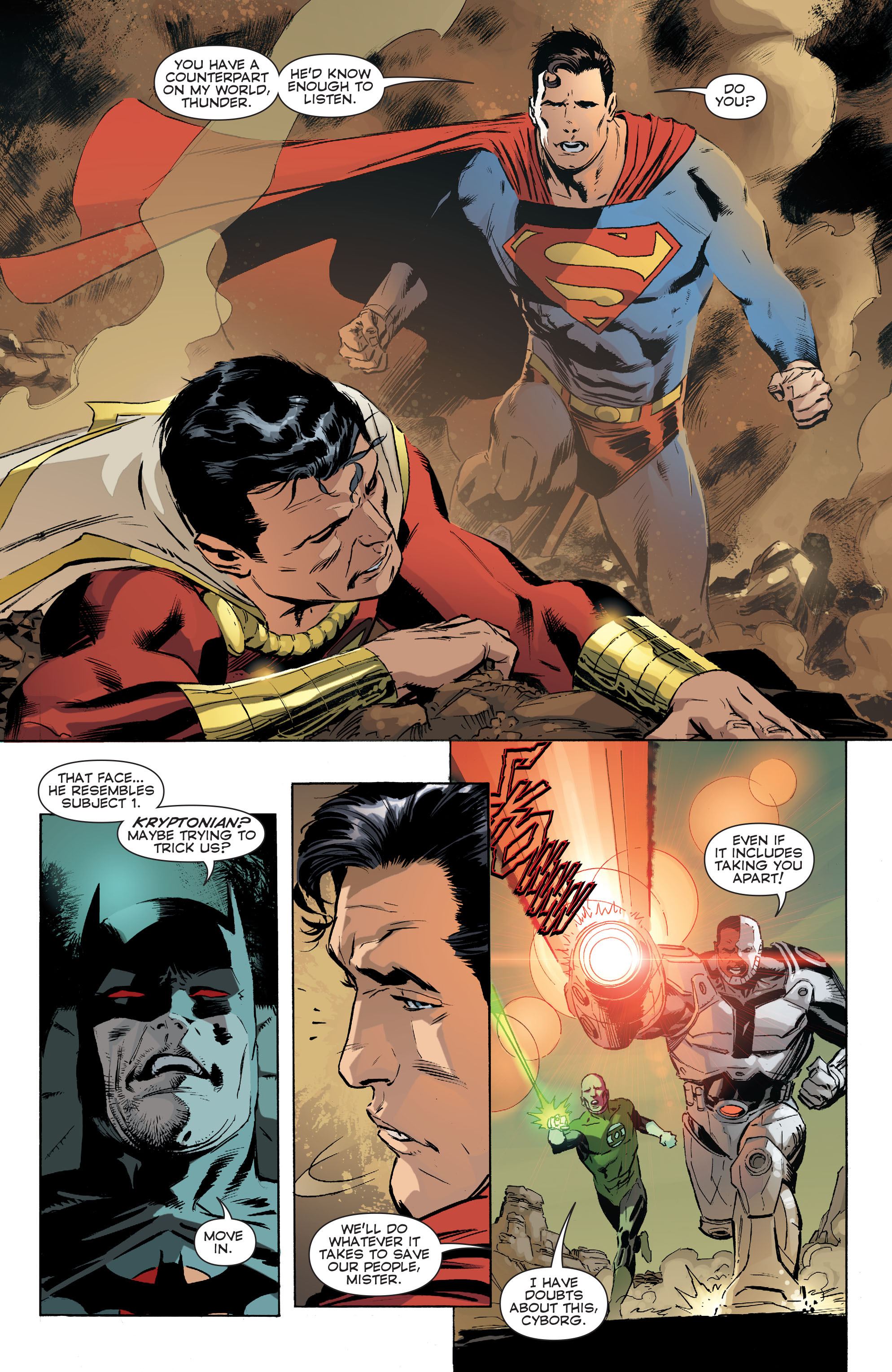 Read online Convergence Superman comic -  Issue #1 - 19